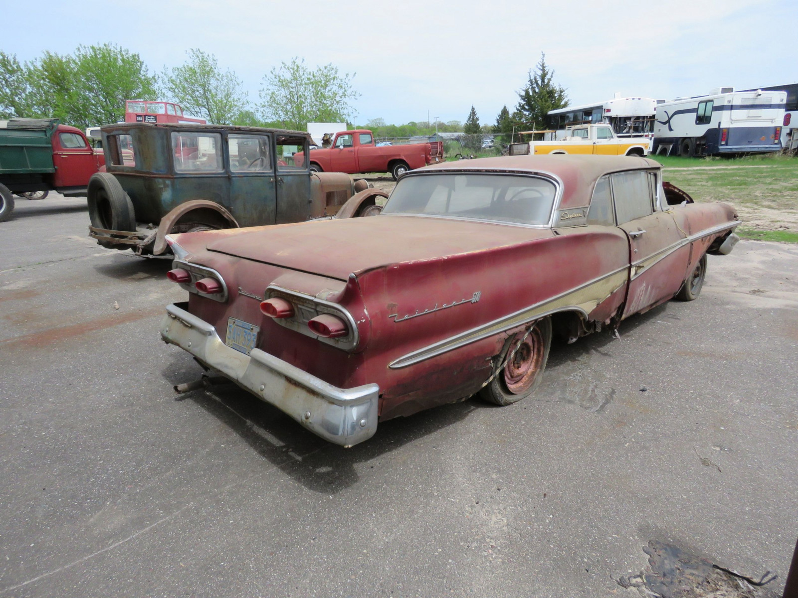 1958 Ford Fairlane 500 Retractable Hardtop Project - Image 5