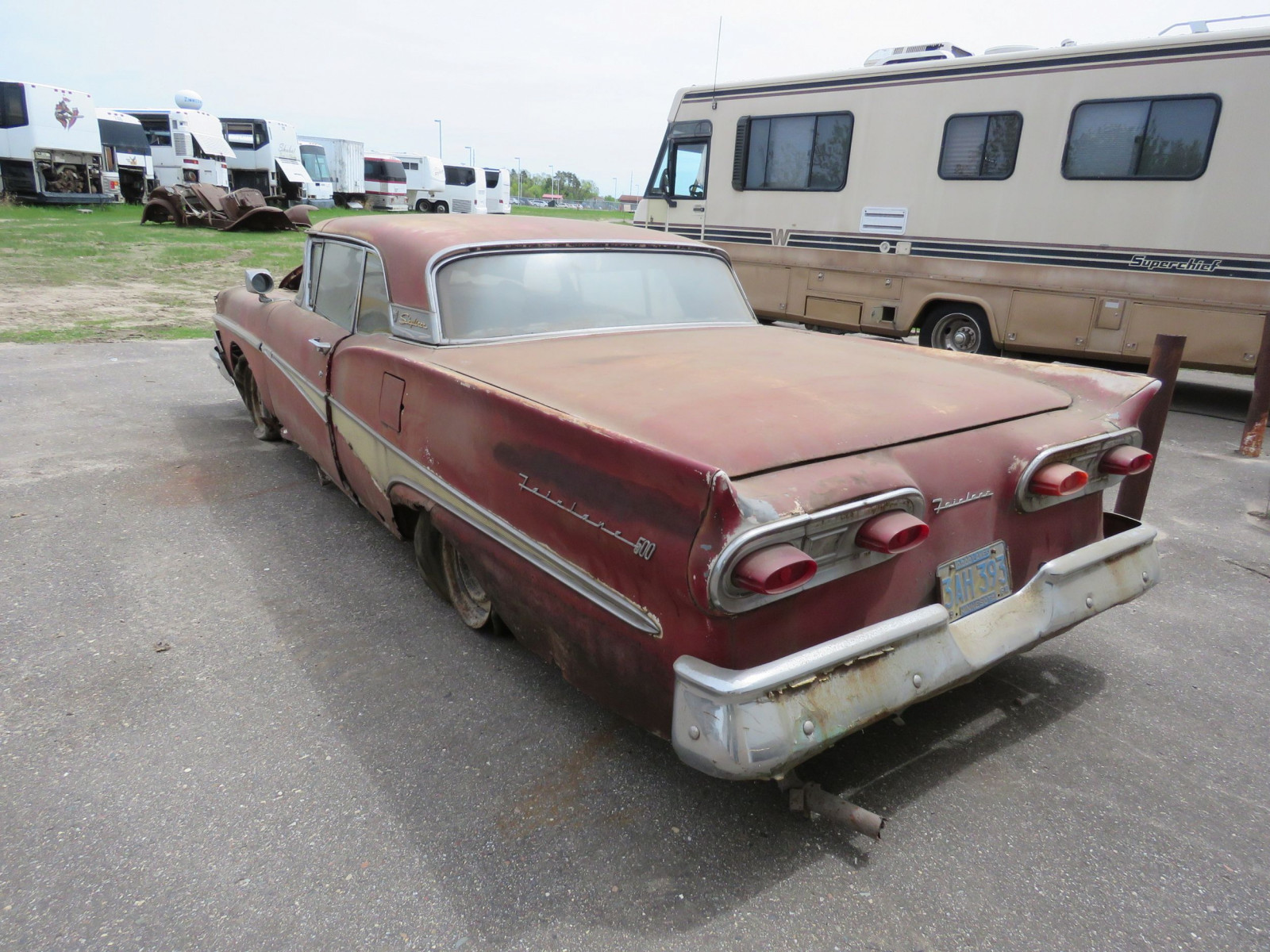 1958 Ford Fairlane 500 Retractable Hardtop Project - Image 6