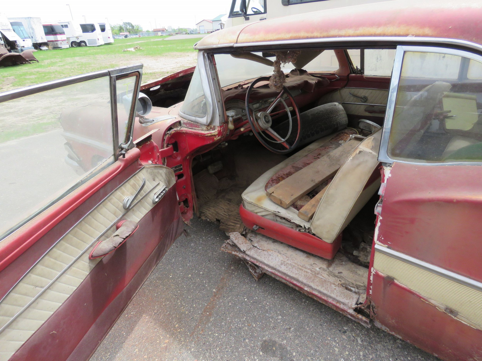 1958 Ford Fairlane 500 Retractable Hardtop Project - Image 7