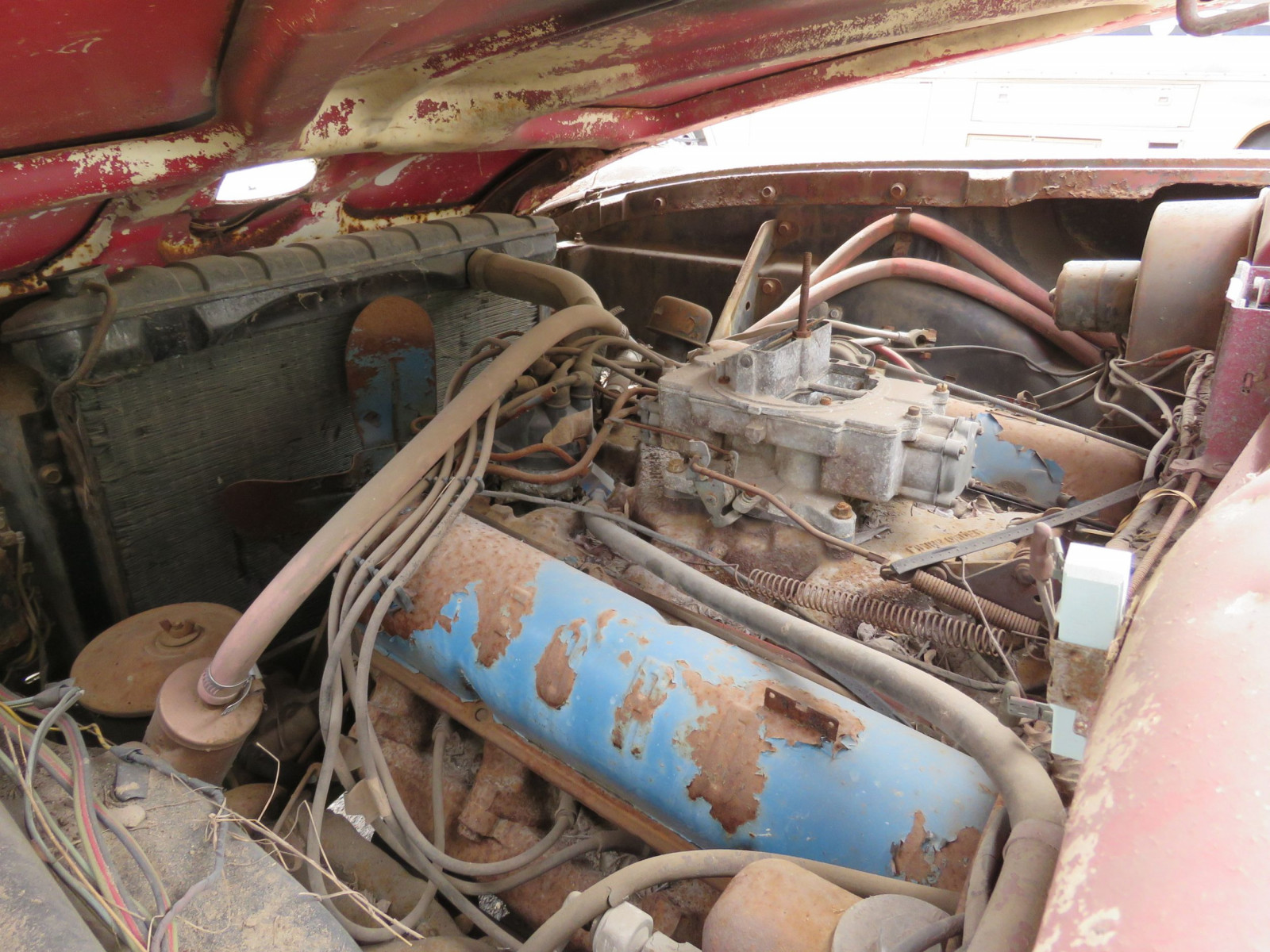 1958 ford fairlane 500 retractable hardtop project - image 8