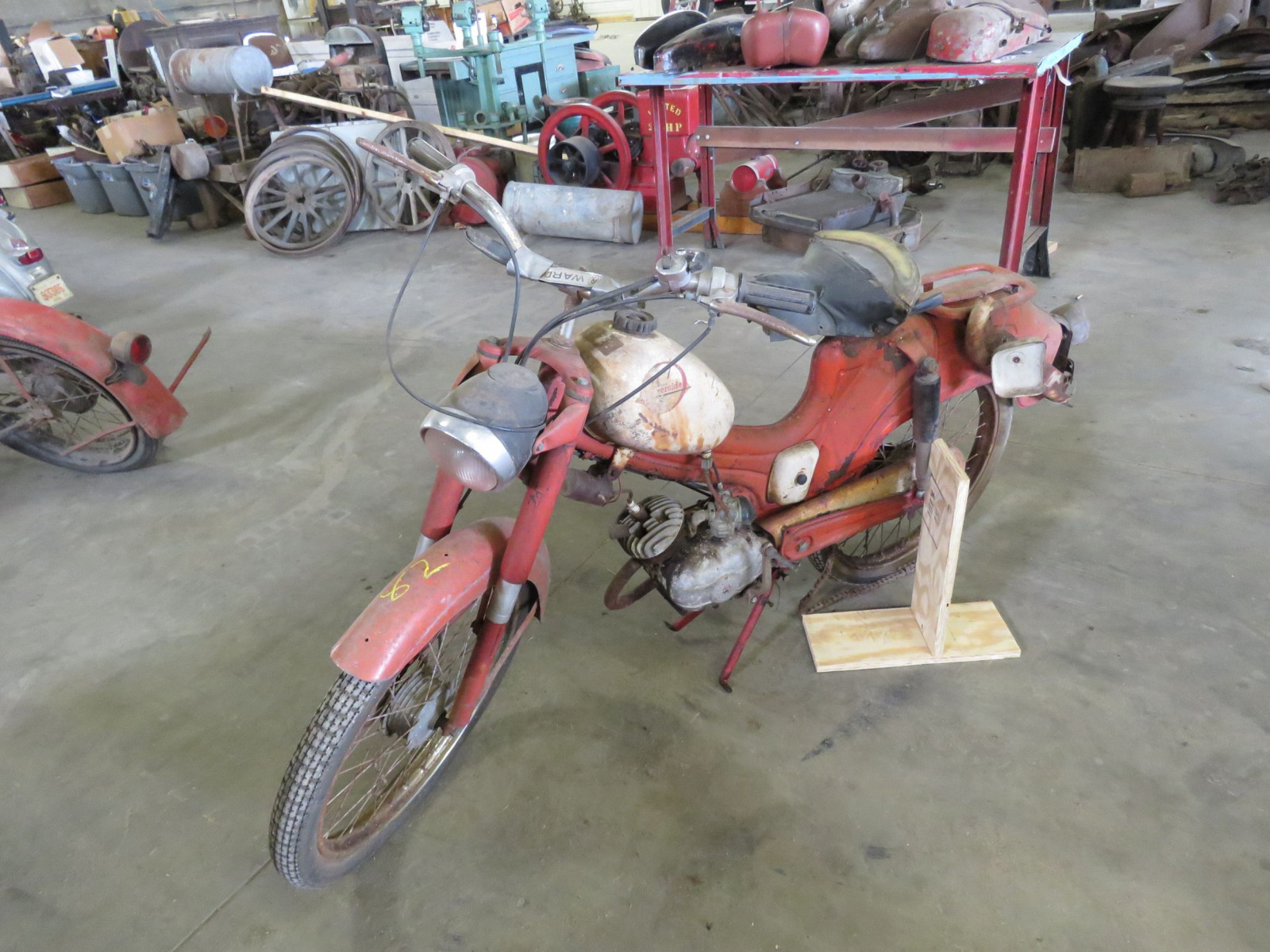 Vintage Wards Motorcycle Project - Image 1