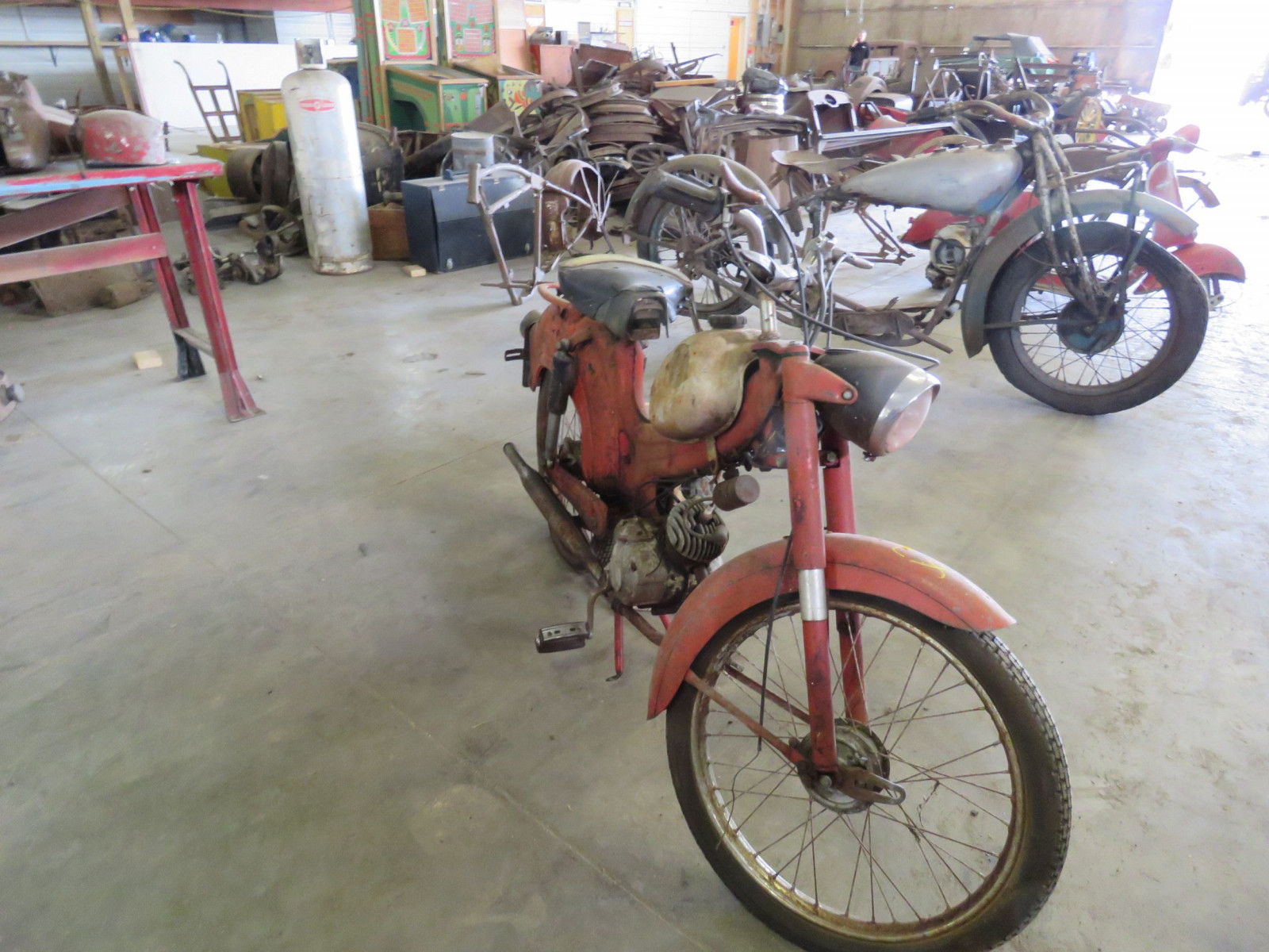 Vintage Wards Motorcycle Project - Image 2