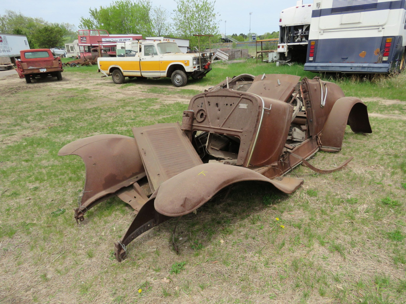 1920's Chevrolet Parts-Project - Image 1