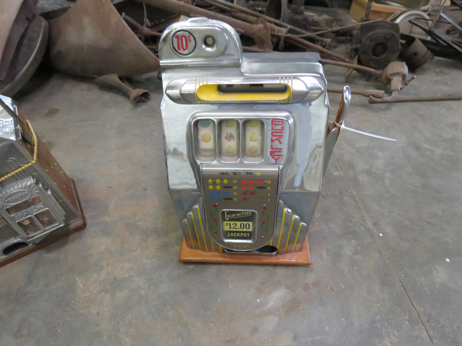 Bukley Vintage Slot Machine - Image 3