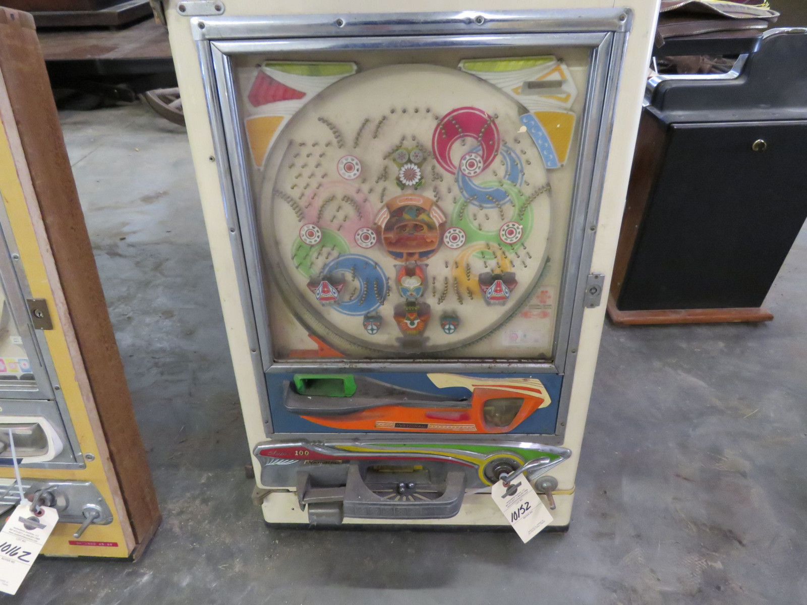 National Super 100 Vintage Pinball Machine - Image 1