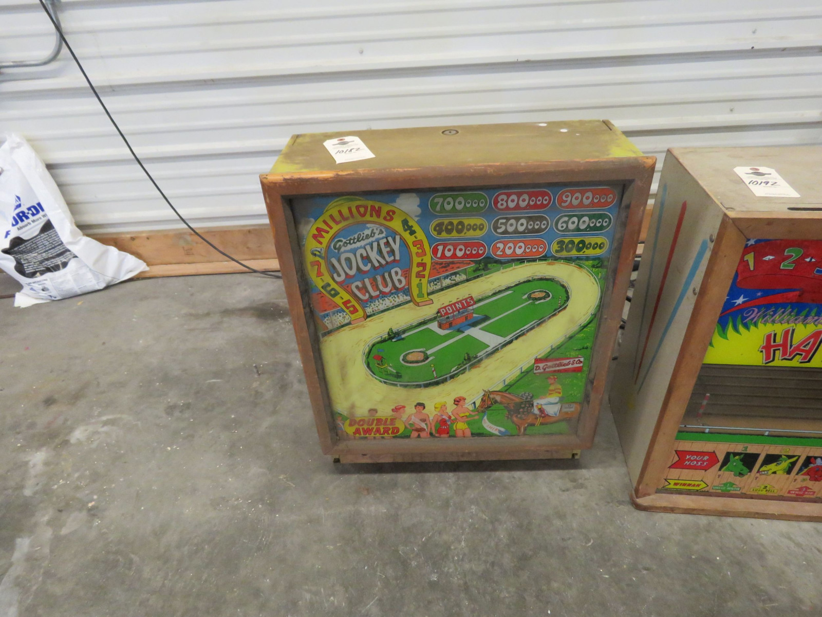 Vintage Top Pinball Machine by D. Gottieb & Comp. Chicago, Ill. - Image 1