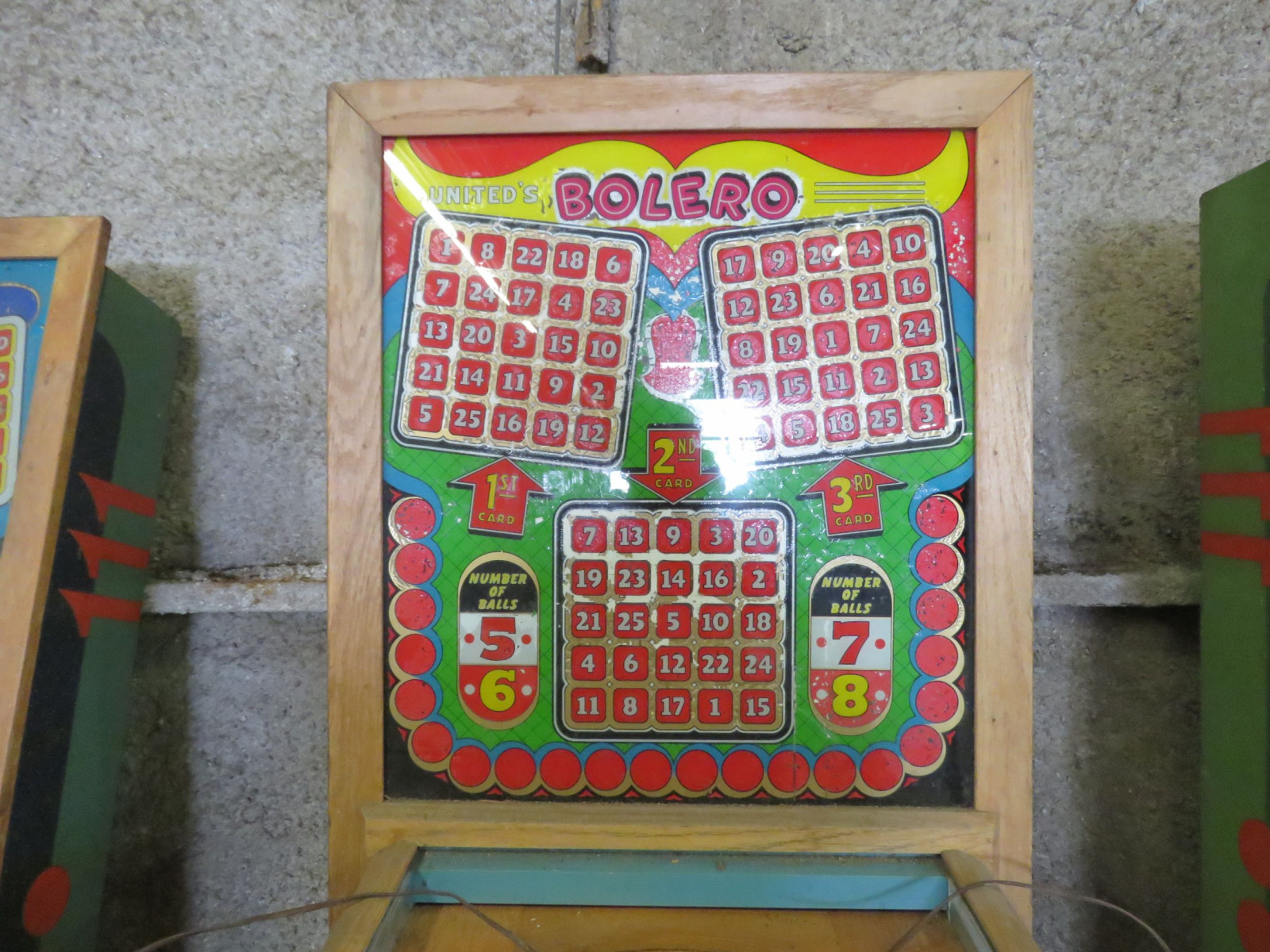 Vintage Bolero Pinball Machine by United - Image 3