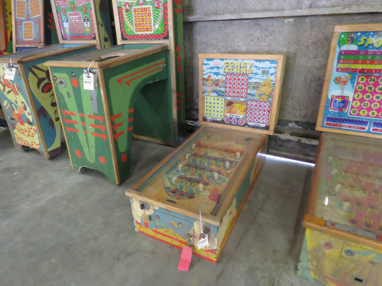 Vintage Bally Coney Island Pinball Machine - Image 1