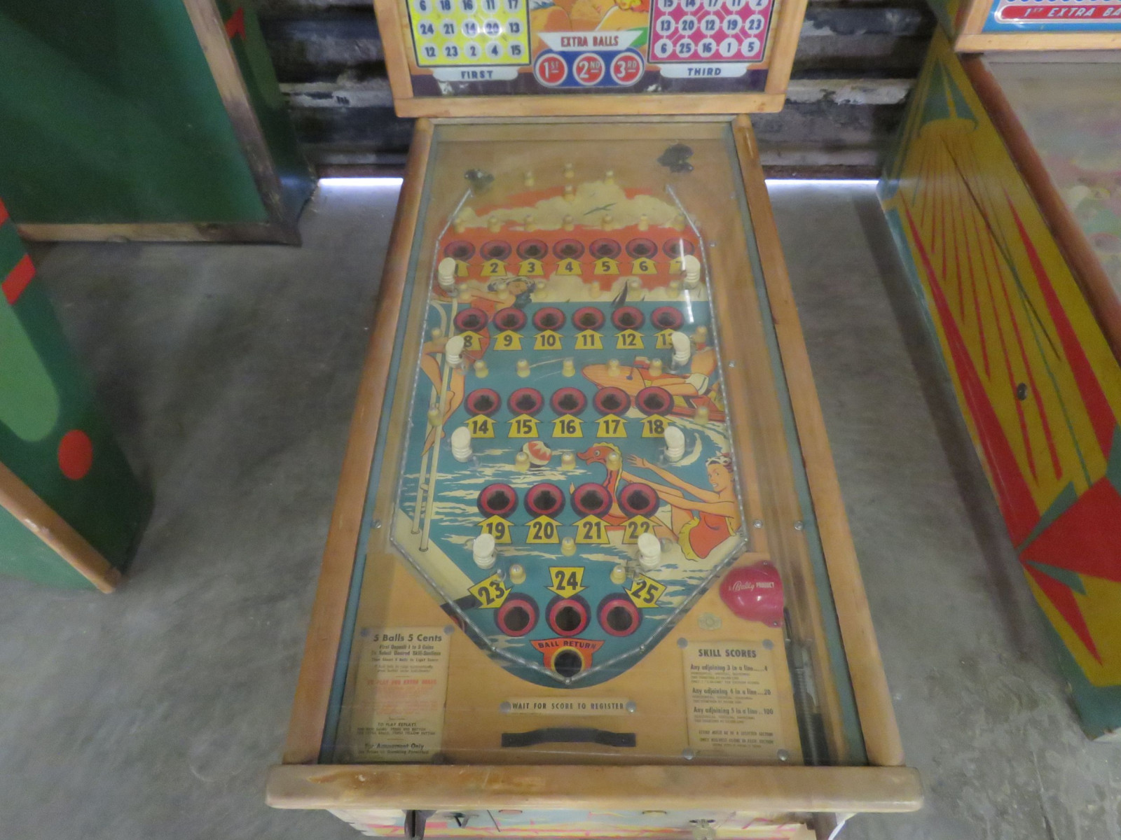 Vintage Bally Coney Island Pinball Machine - Image 2