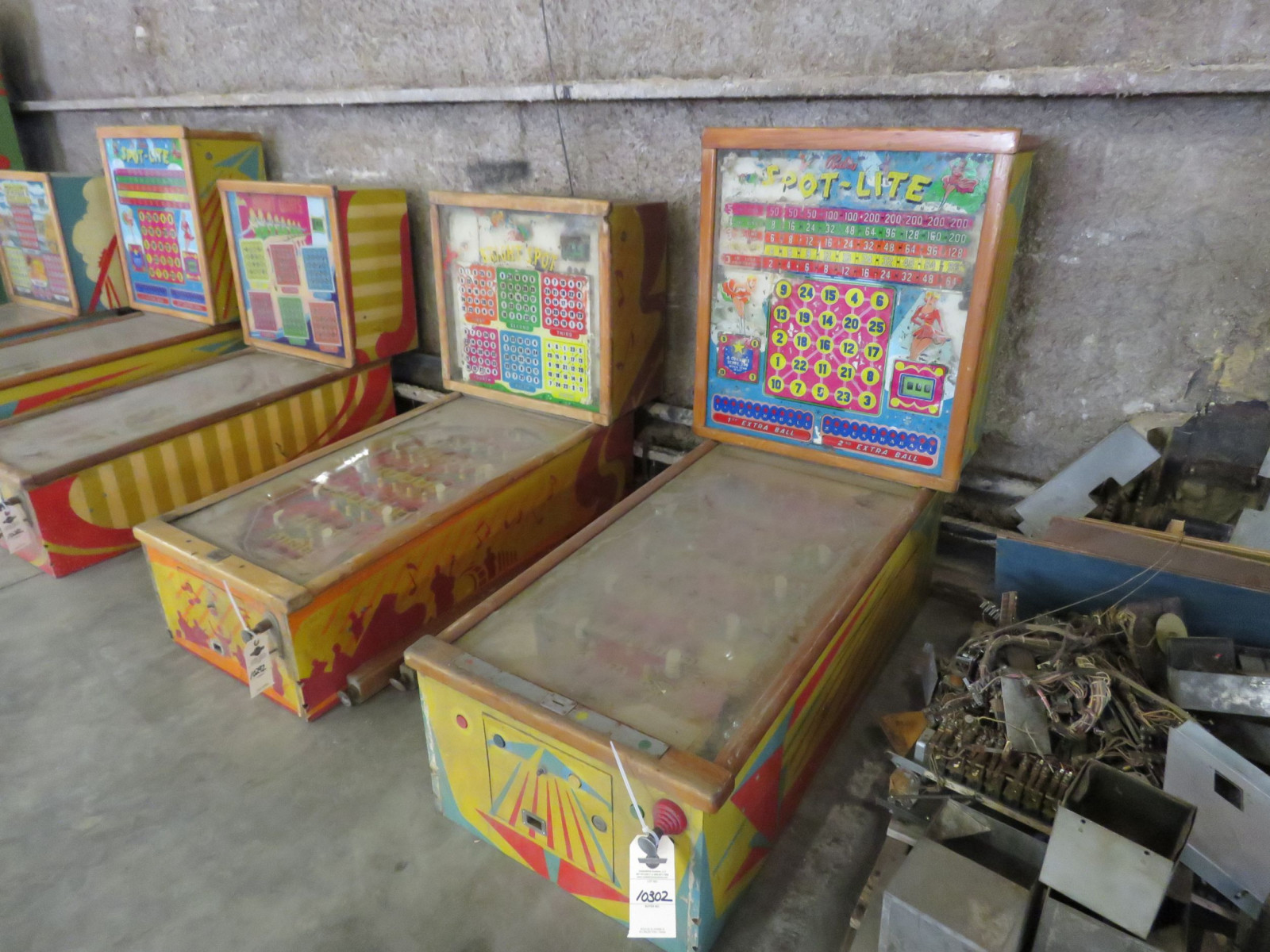 Vintage Bally Spot Light Pinball Machine - Image 1