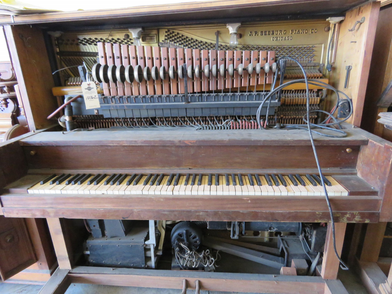 Seeburg Player Piano for project or Parts - Image 1