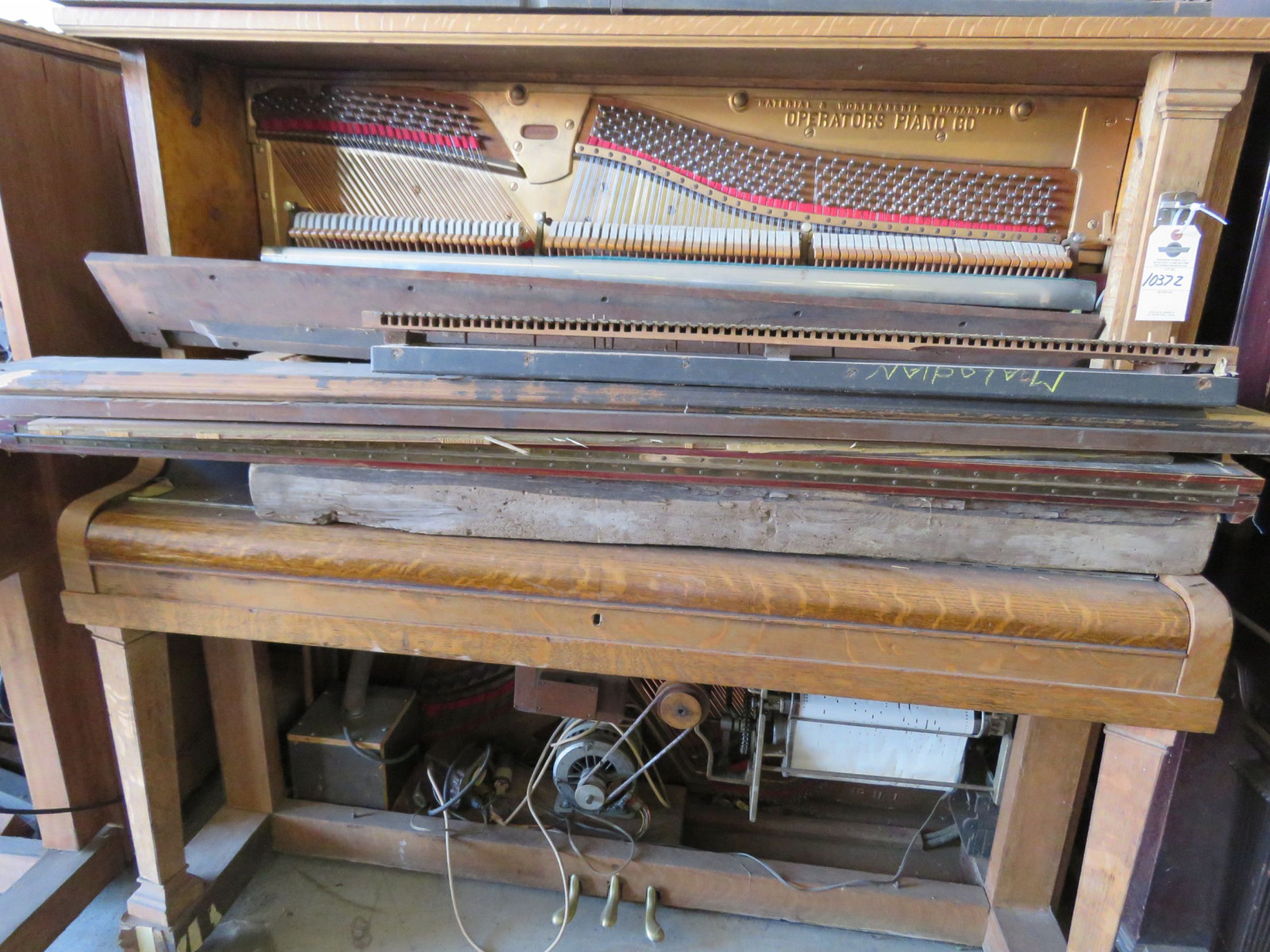 Operators Player Piano for Project or Parts - Image 1