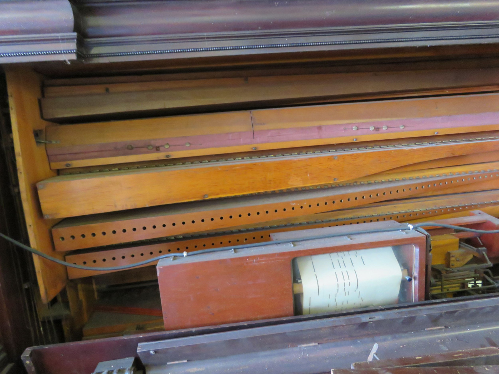 Reed Instrument Player Piano for Project or Parts - Image 2