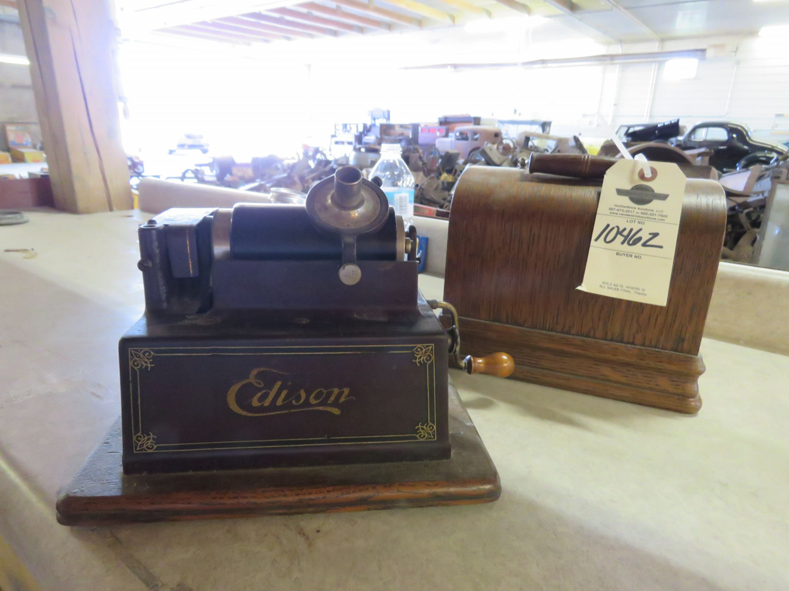 Vintage Edison Gem Combination Phonograph - Image 1