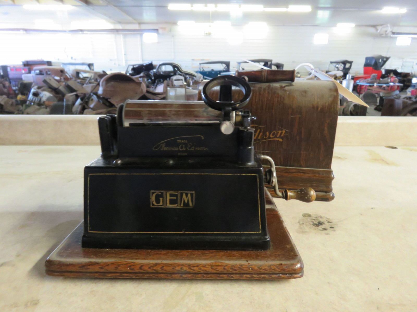 Vintage Edison Gem Combination Phonograph - Image 2