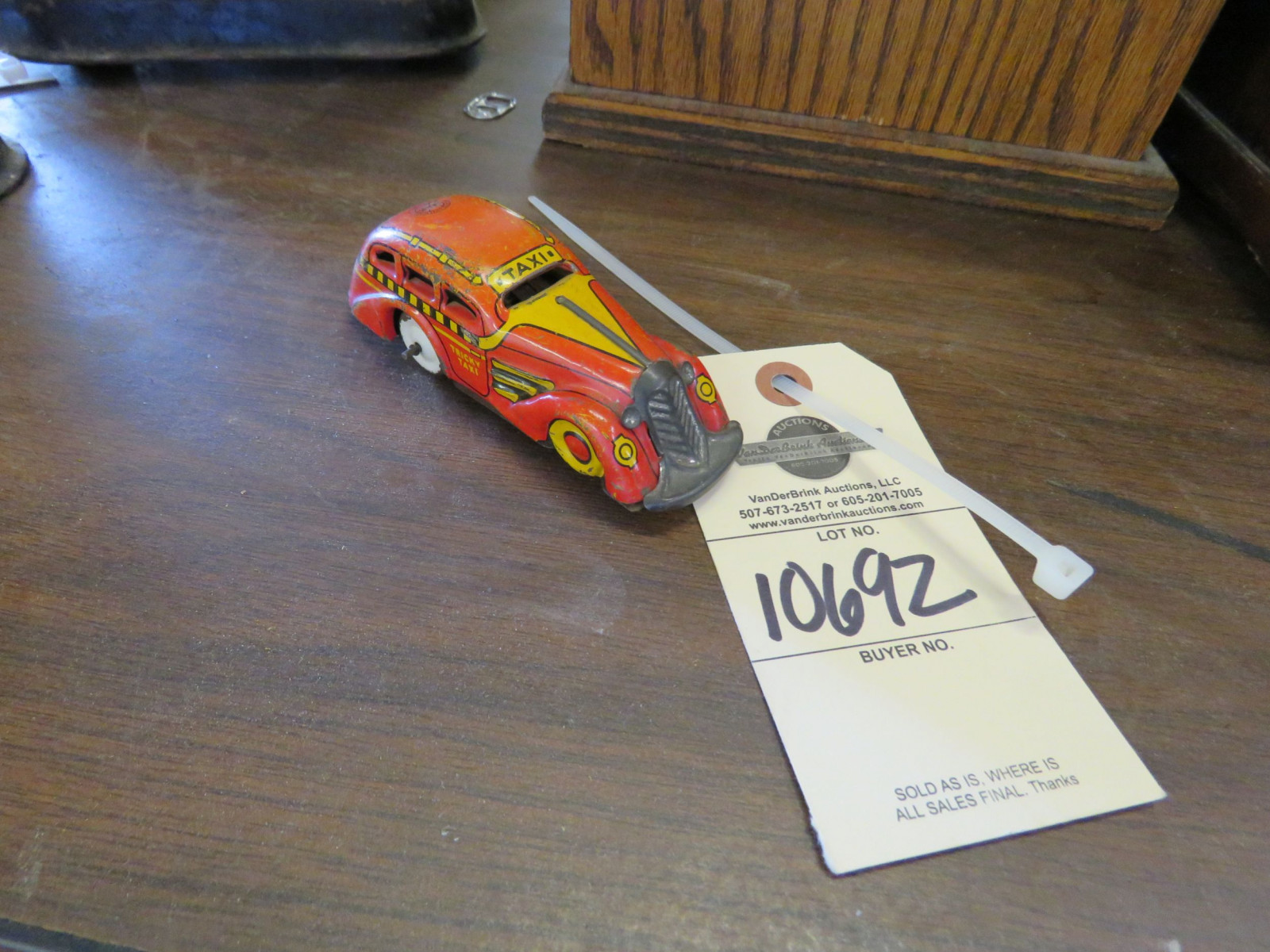 Vintage Tin Friction Toy - Image 1