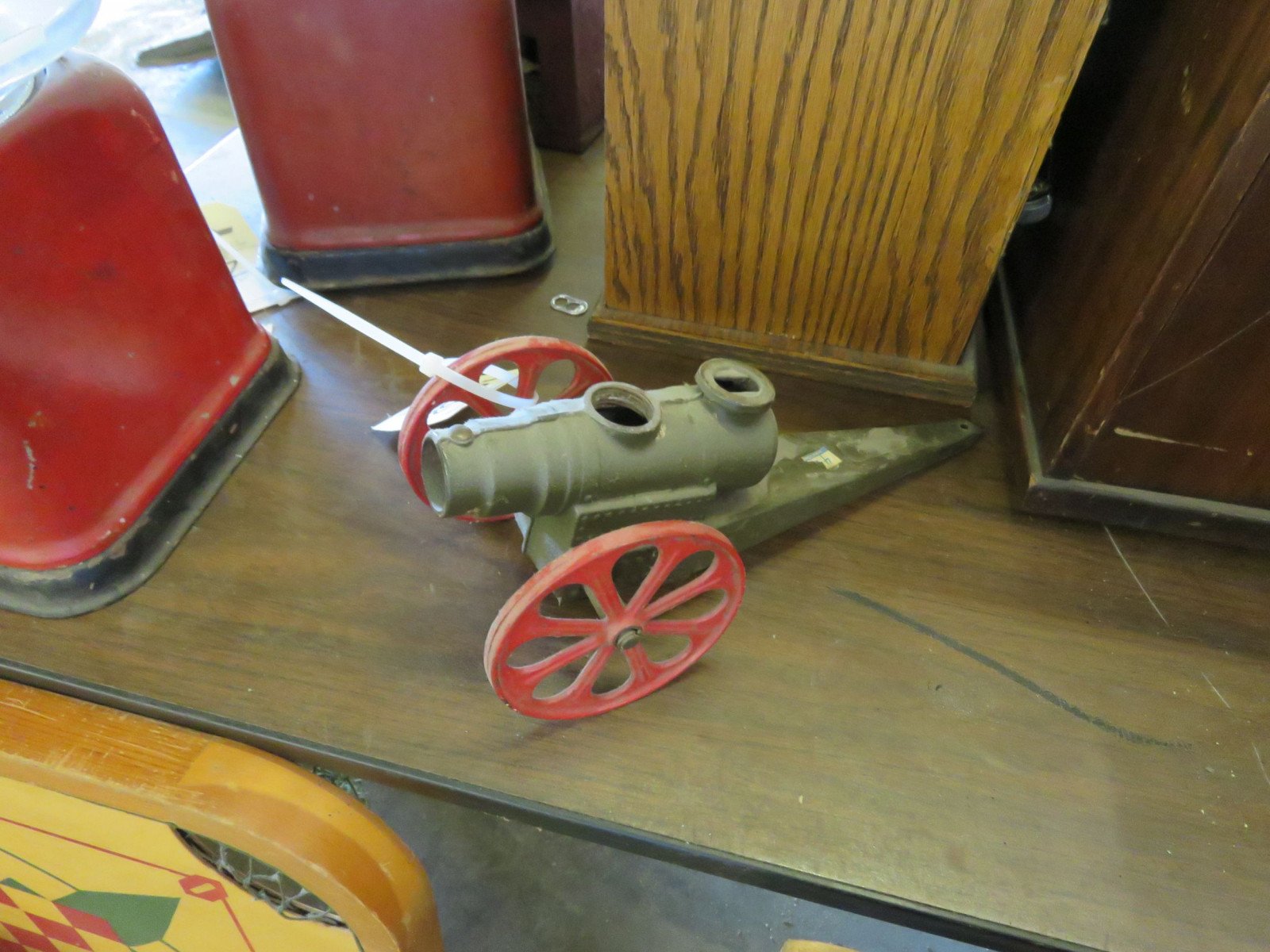 Vintage Toy Pot-Metal Cannon - Image 2