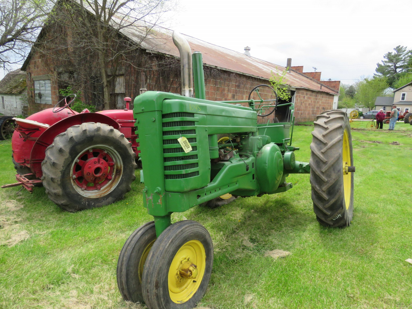 Styled John Deere A Tractor - Image 1
