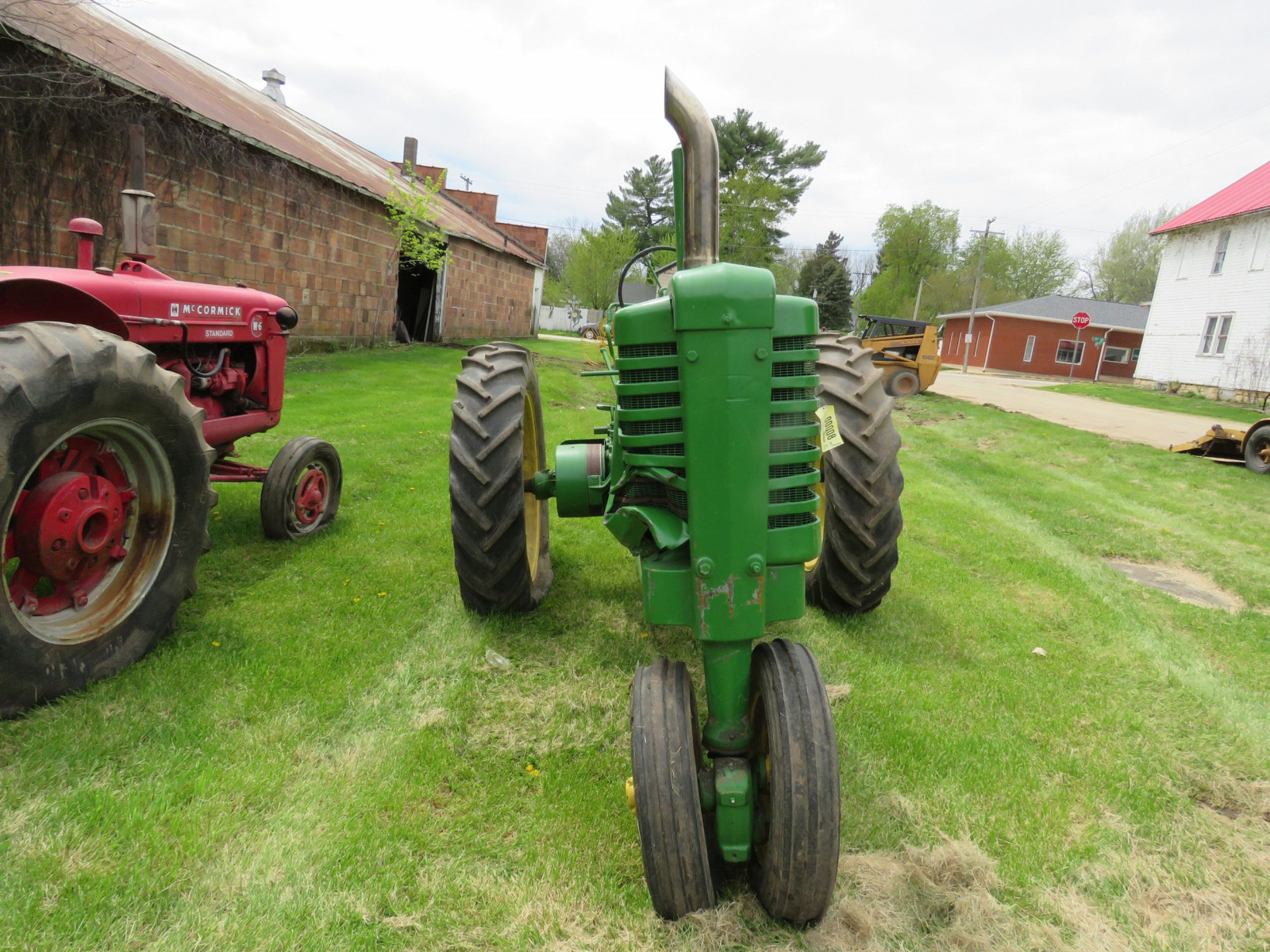 Styled John Deere A Tractor - Image 2