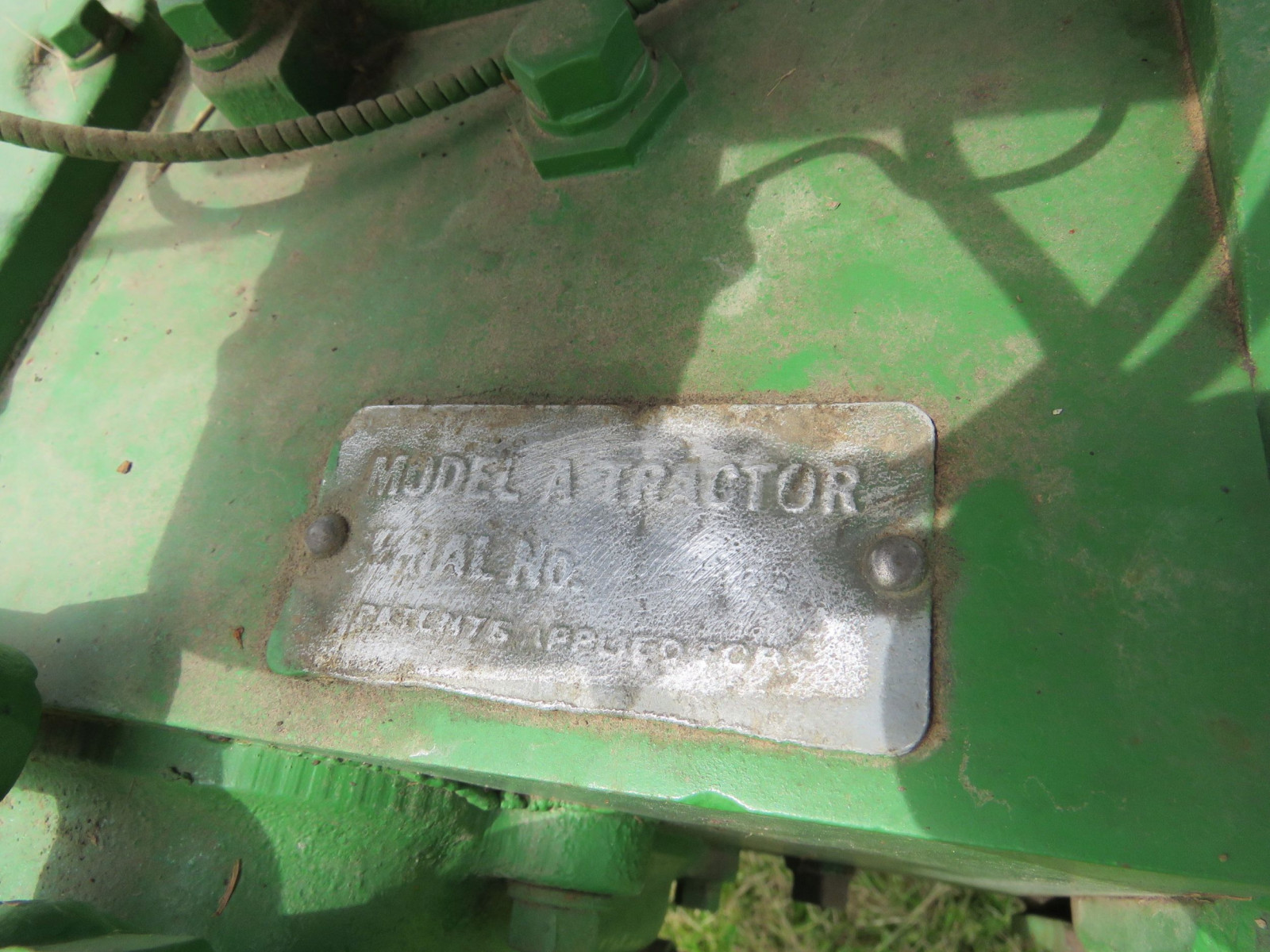 Styled John Deere A Tractor - Image 5