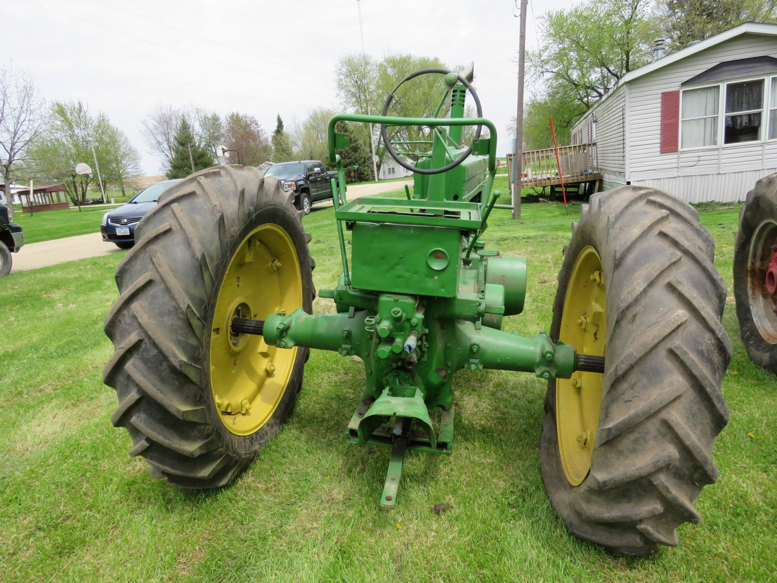 Styled John Deere A Tractor - Image 6