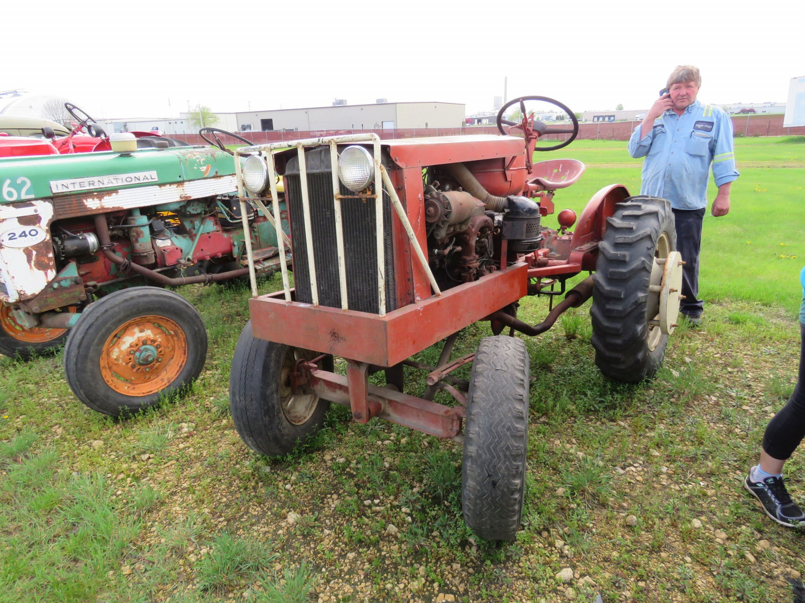 Homemade tractor - Image 1