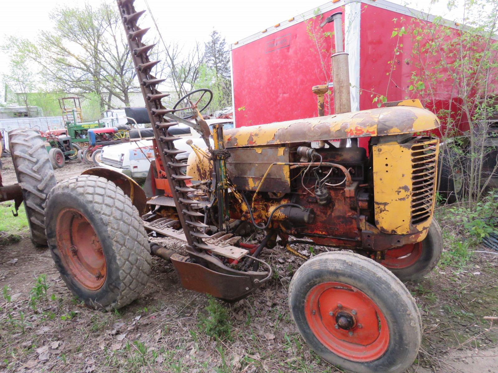 Case Tractor for restore - Image 1