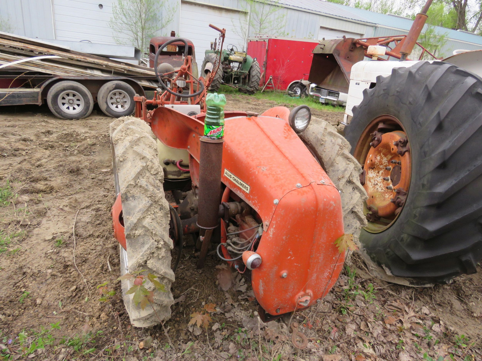 Allis Chalmers G Tractor - Image 4