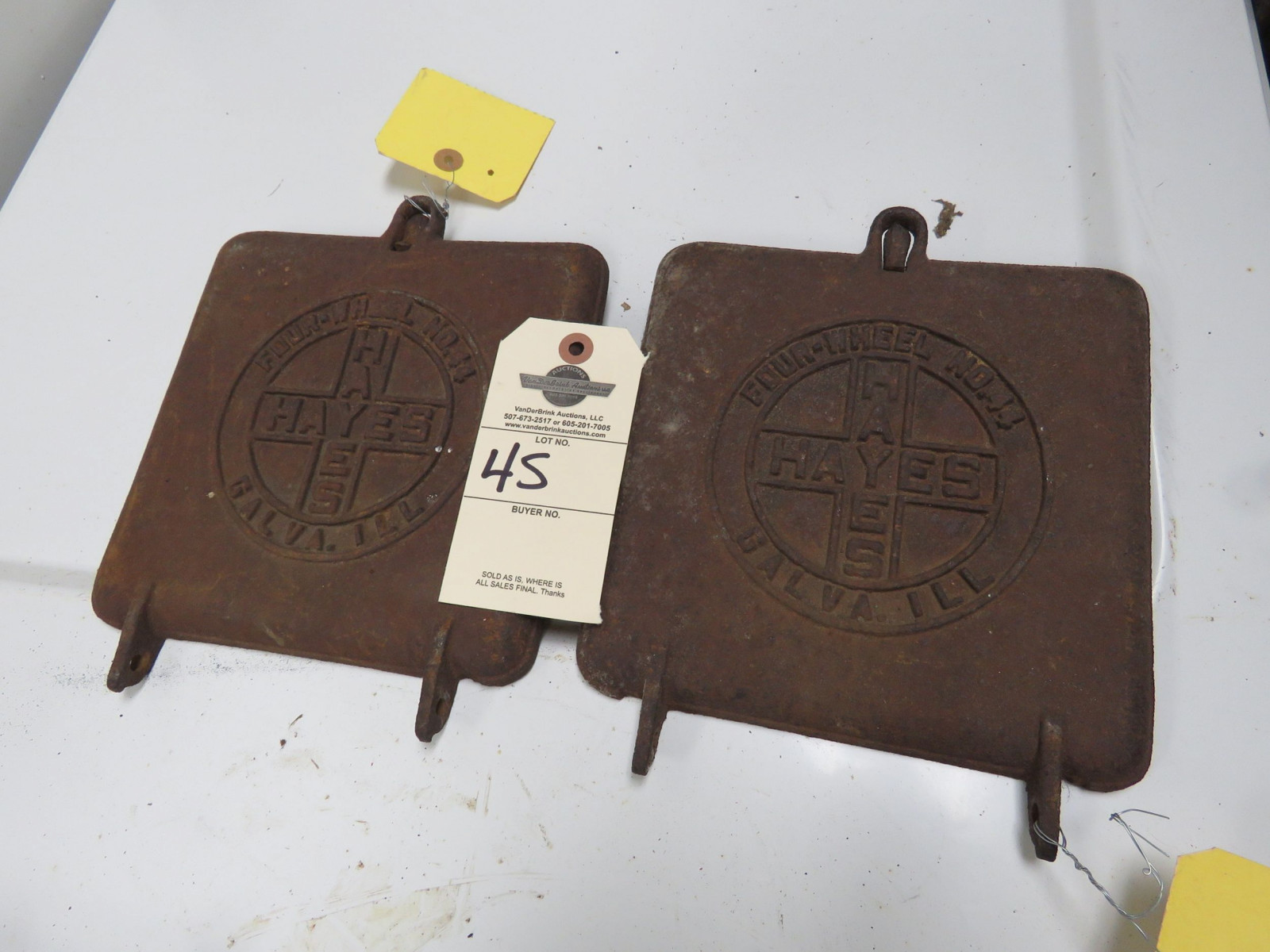 Hayes Antique Planter Box Lids - Image 1