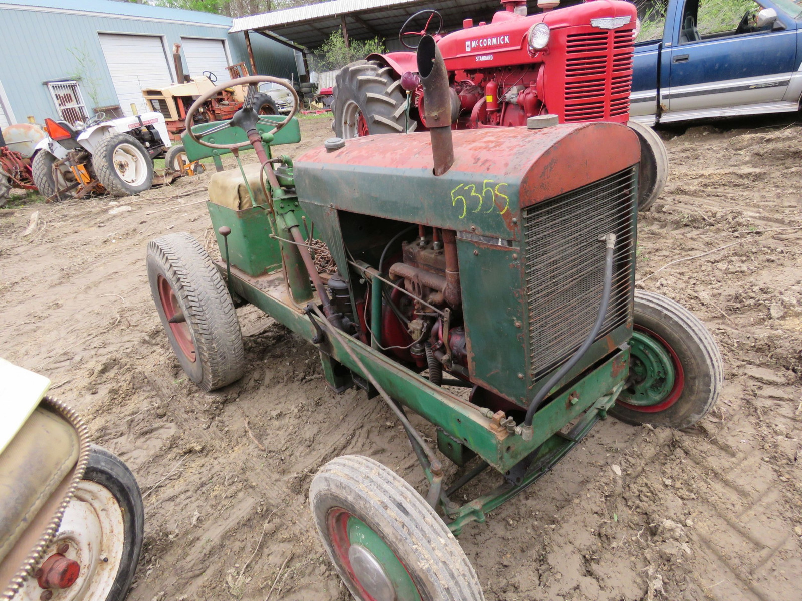lawn tractor for restore - Image 1
