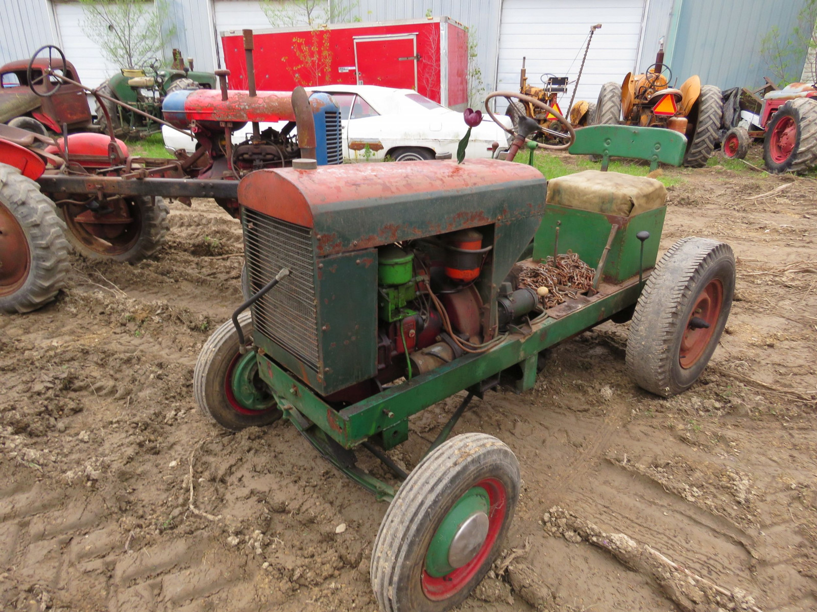 lawn tractor for restore - Image 2