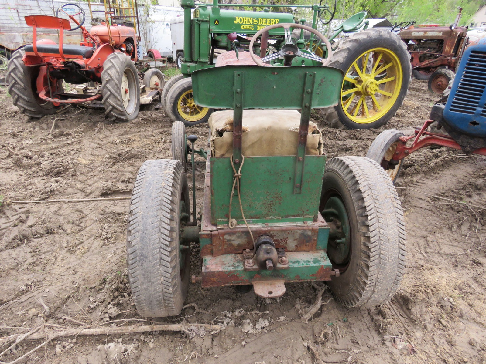 lawn tractor for restore - Image 4