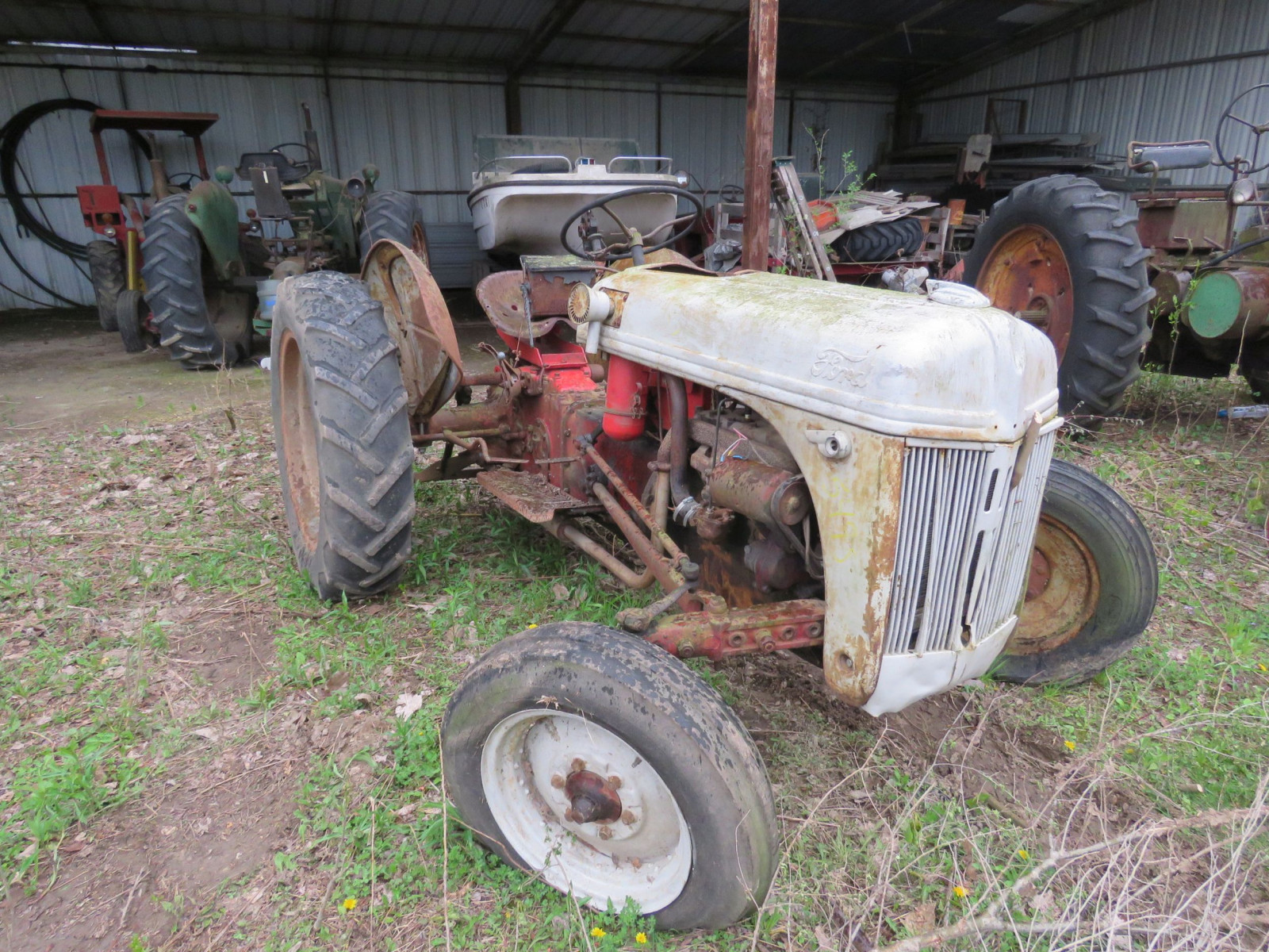 8N Ford Tractor - Image 1