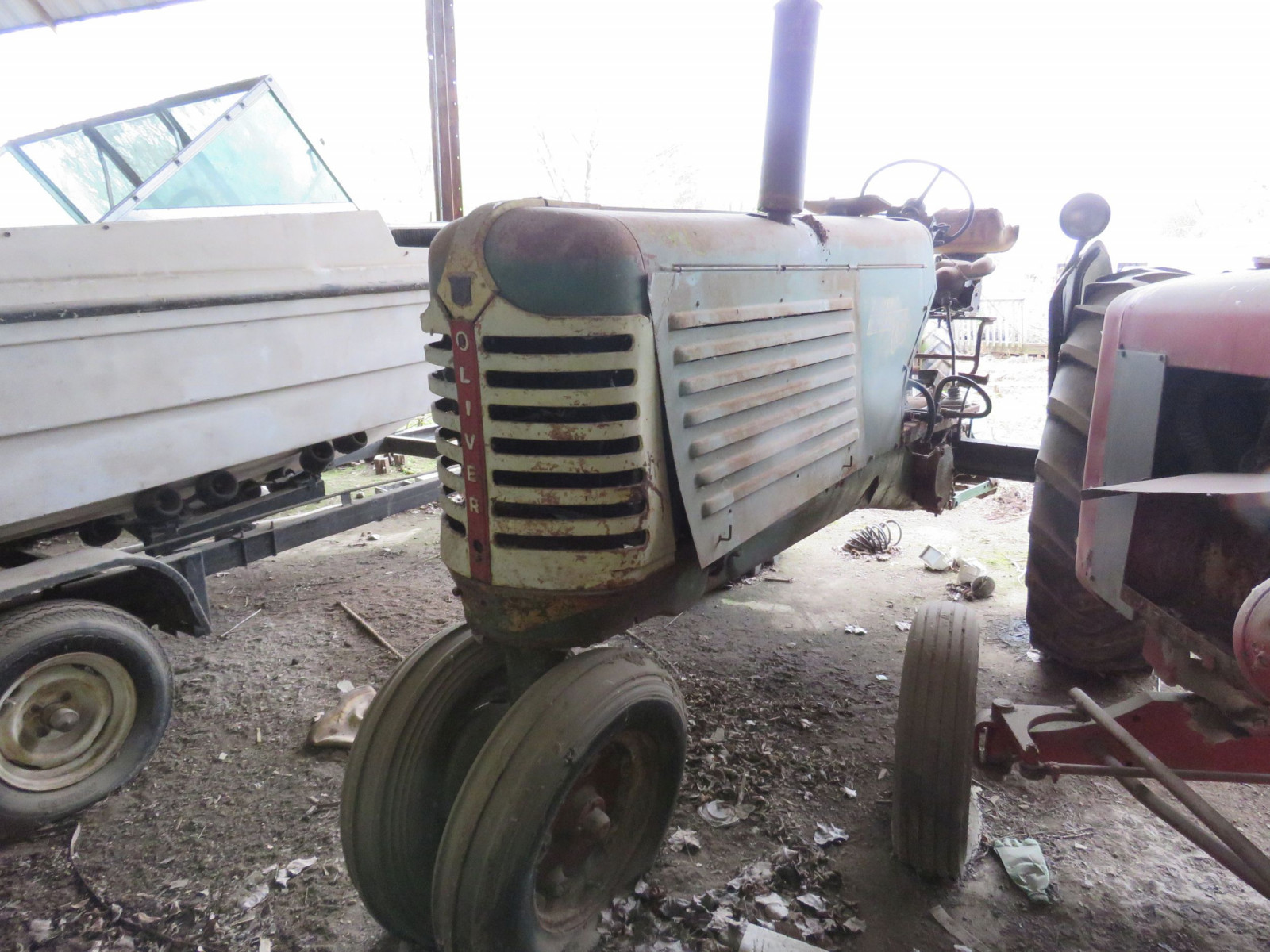 Oliver 88 Row Crop Tractor - Image 1