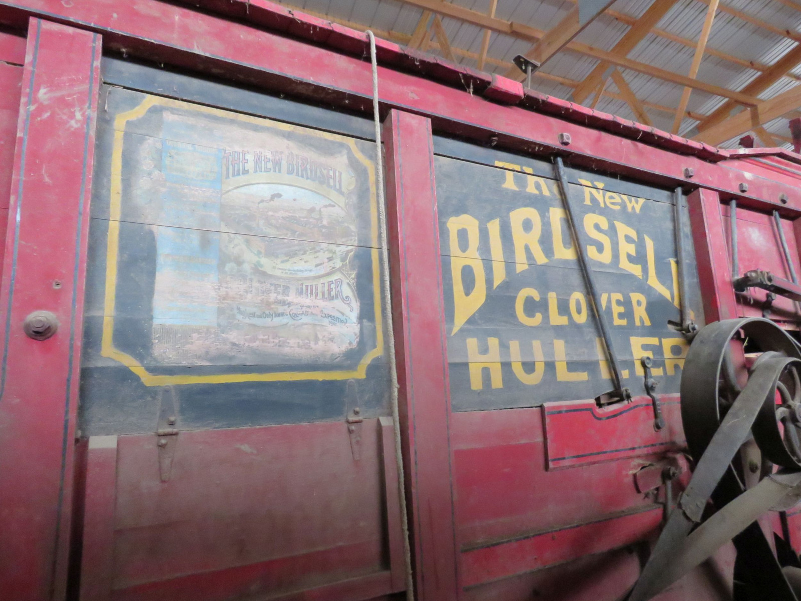 The New Birdsell Manufacturing Threshing machine - Image 5