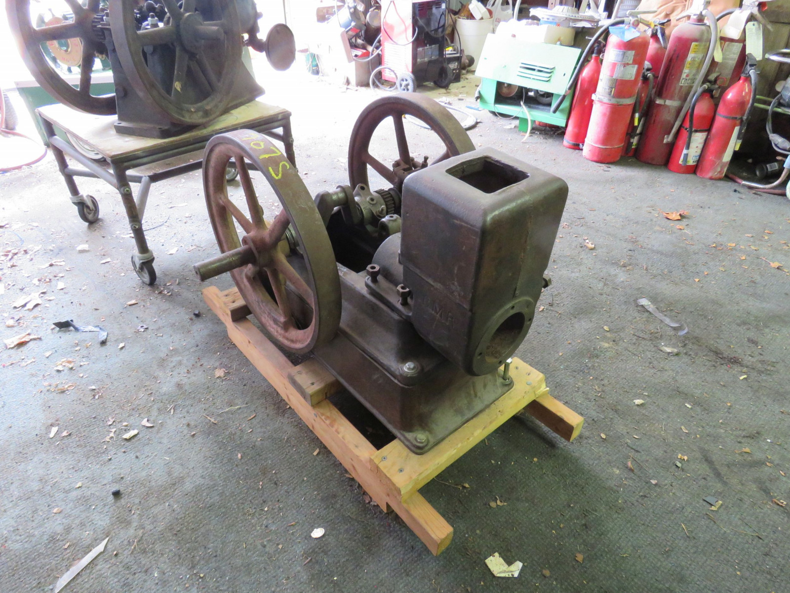 United ABK Type A Stationary Gas Engine for Restore 11108 - Image 1
