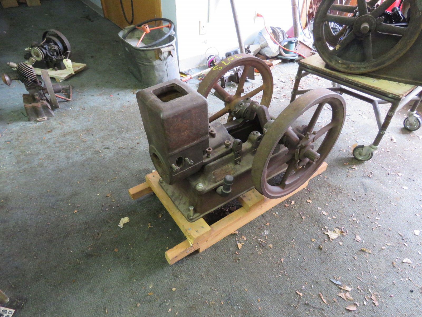 United ABK Type A Stationary Gas Engine for Restore 11108 - Image 2