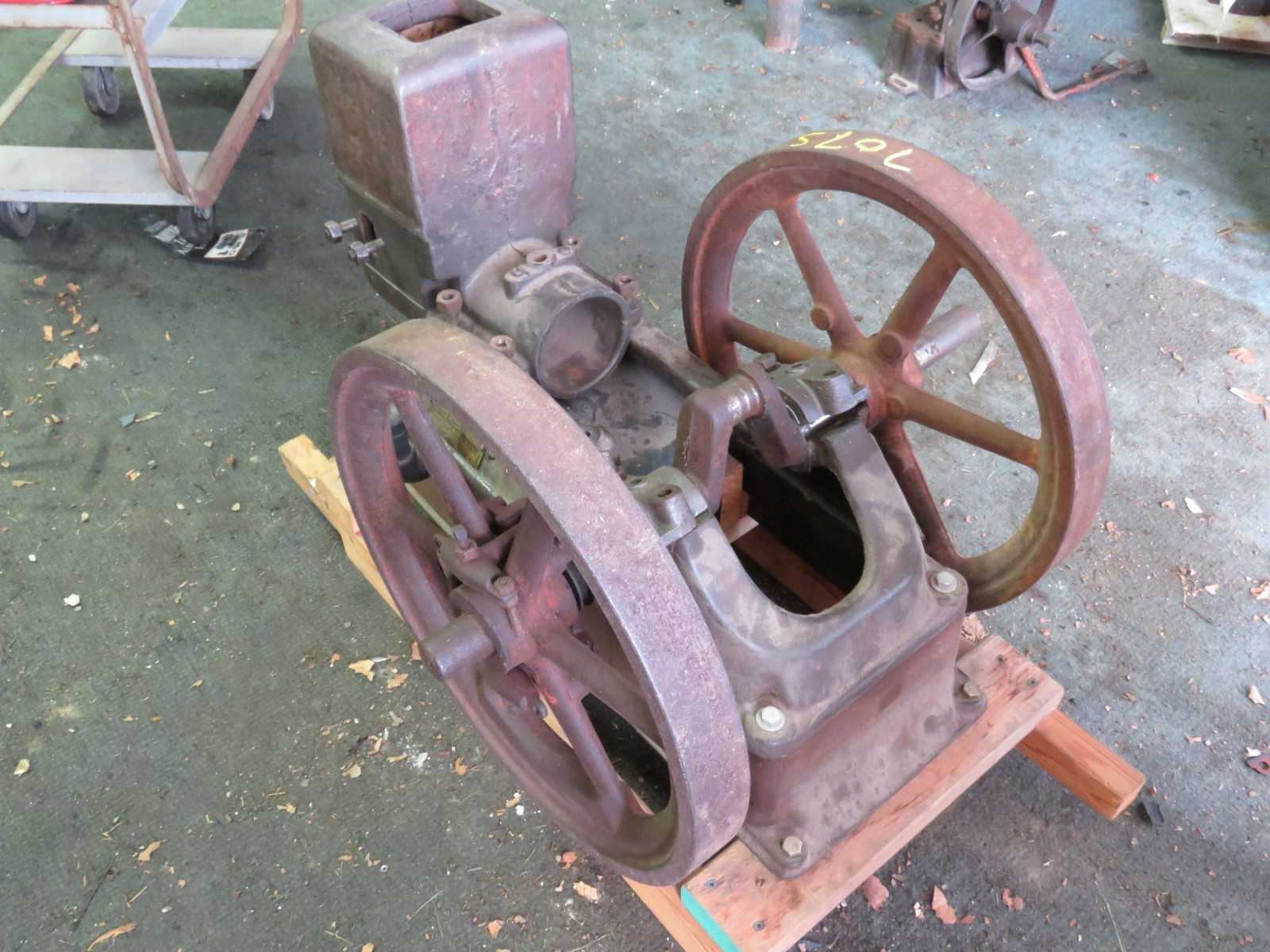 United ABK Type A Stationary Gas Engine for Restore 11108 - Image 4