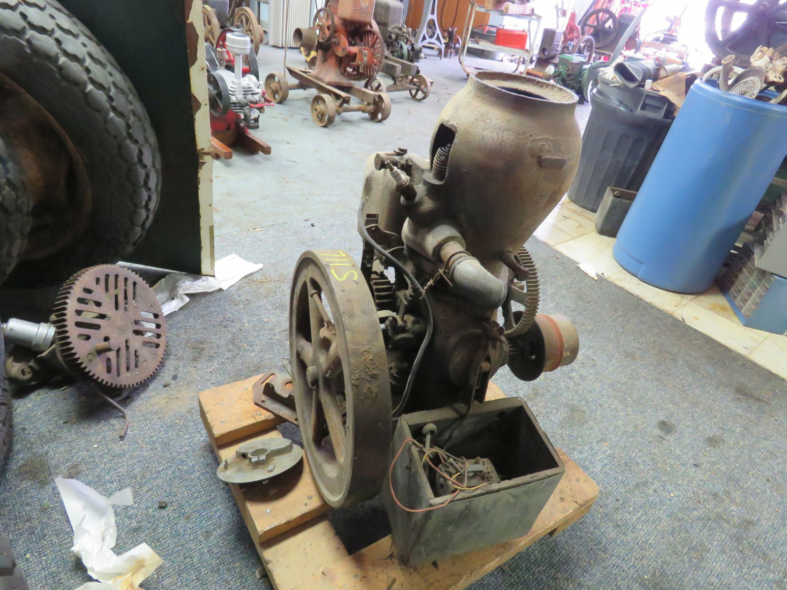 Monitor VJ 1 1/4 HP Upright Stationary Gas Engine - Image 3