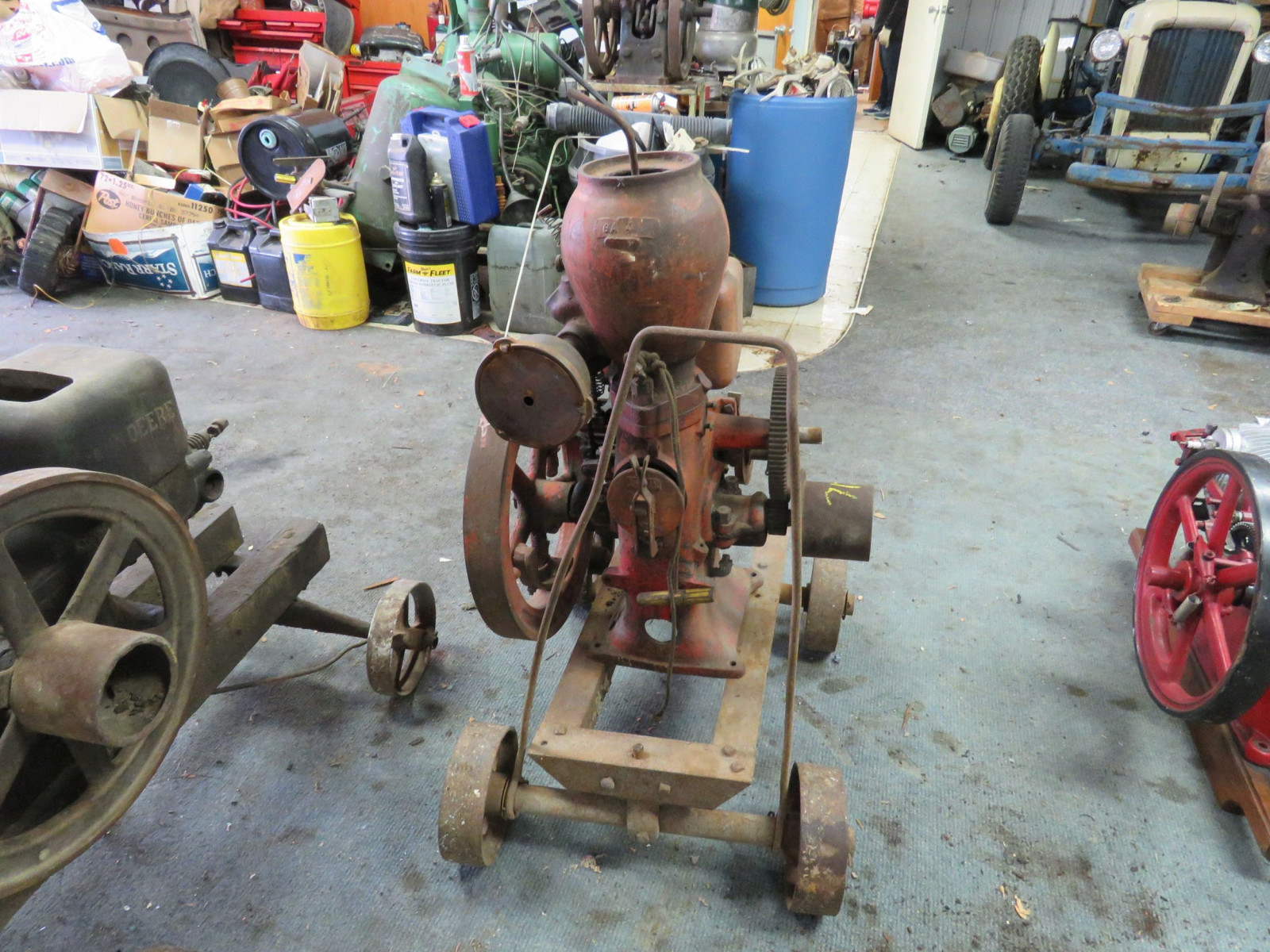 Monitor VJ 1 1/4 HP Upright Stationary Gas Engine - Image 4