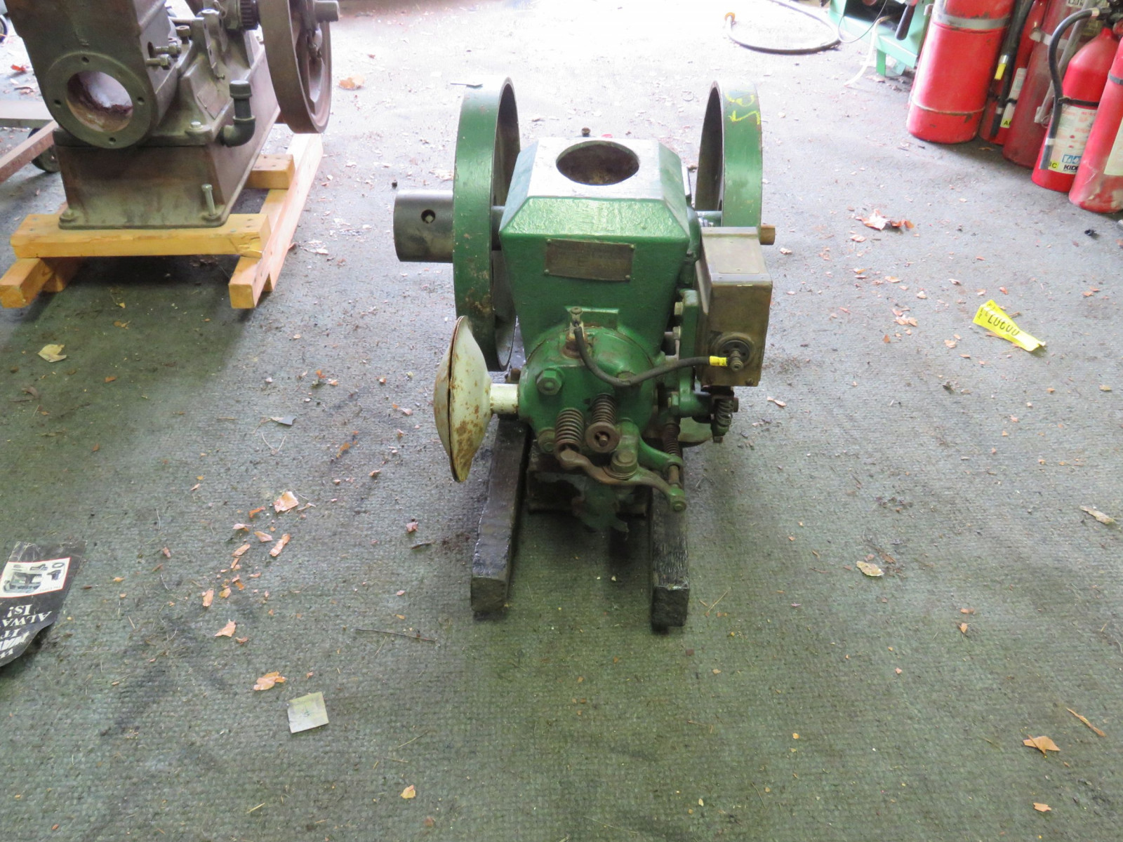 Stover 1 1/2 HP Stationary Gas Engine - Image 2