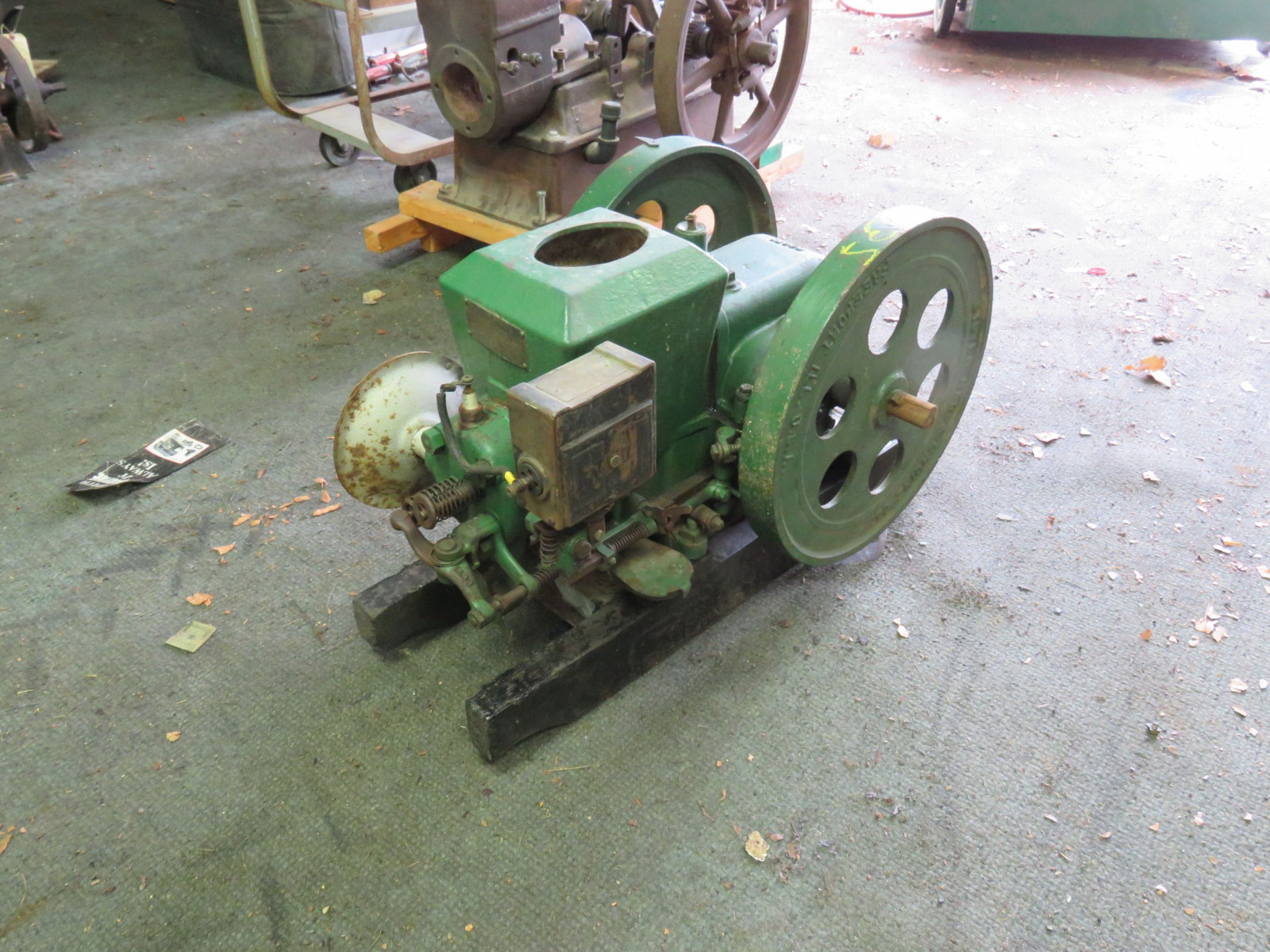 Stover 1 1/2 HP Stationary Gas Engine - Image 3