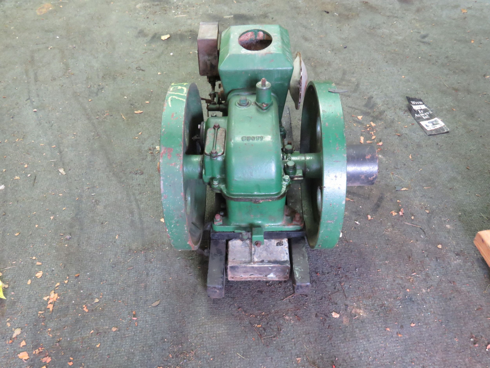 Stover 1 1/2 HP Stationary Gas Engine - Image 4