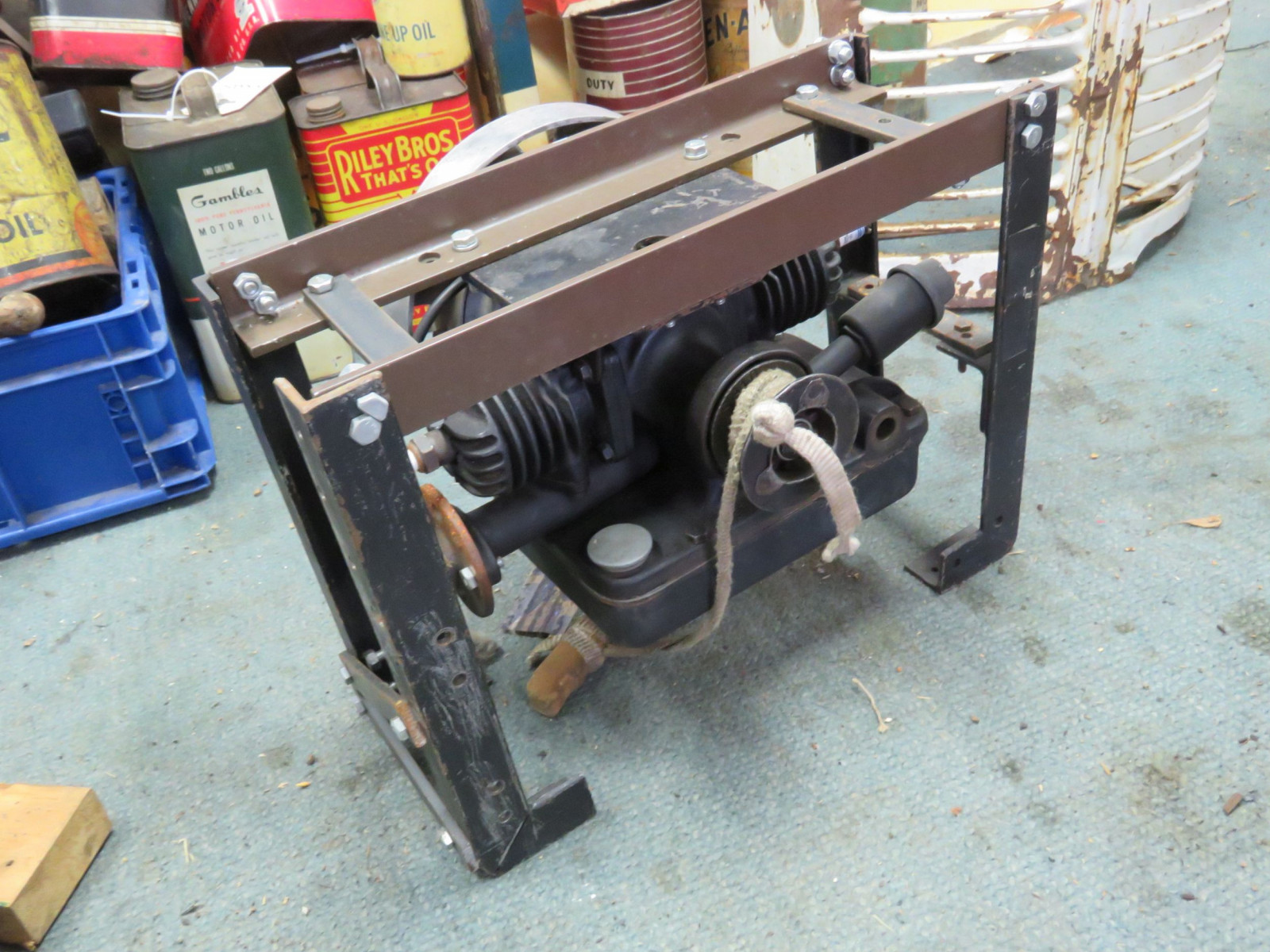 Maytag Twin cylinder Kick Start Engine - Image 1