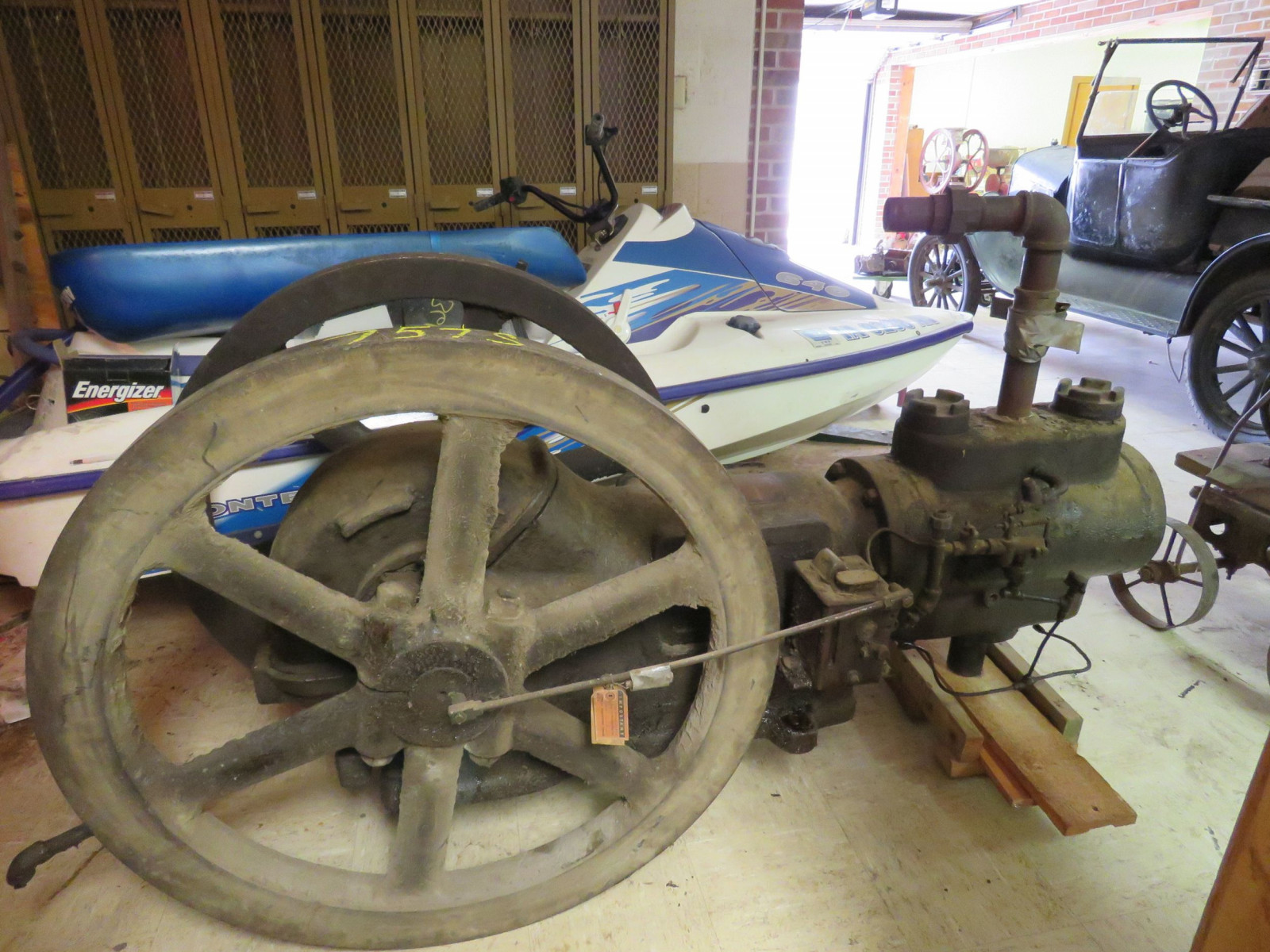 Sullivan Machinery Company Stationary Engine - Image 1