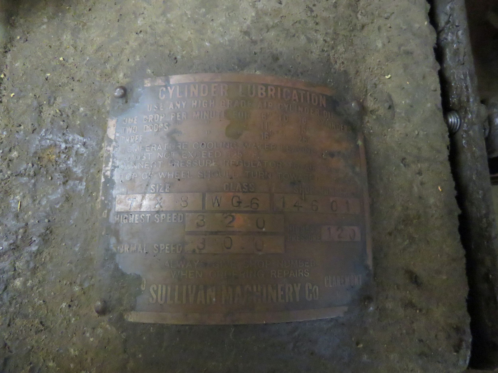 Sullivan Machinery Company Stationary Engine - Image 5