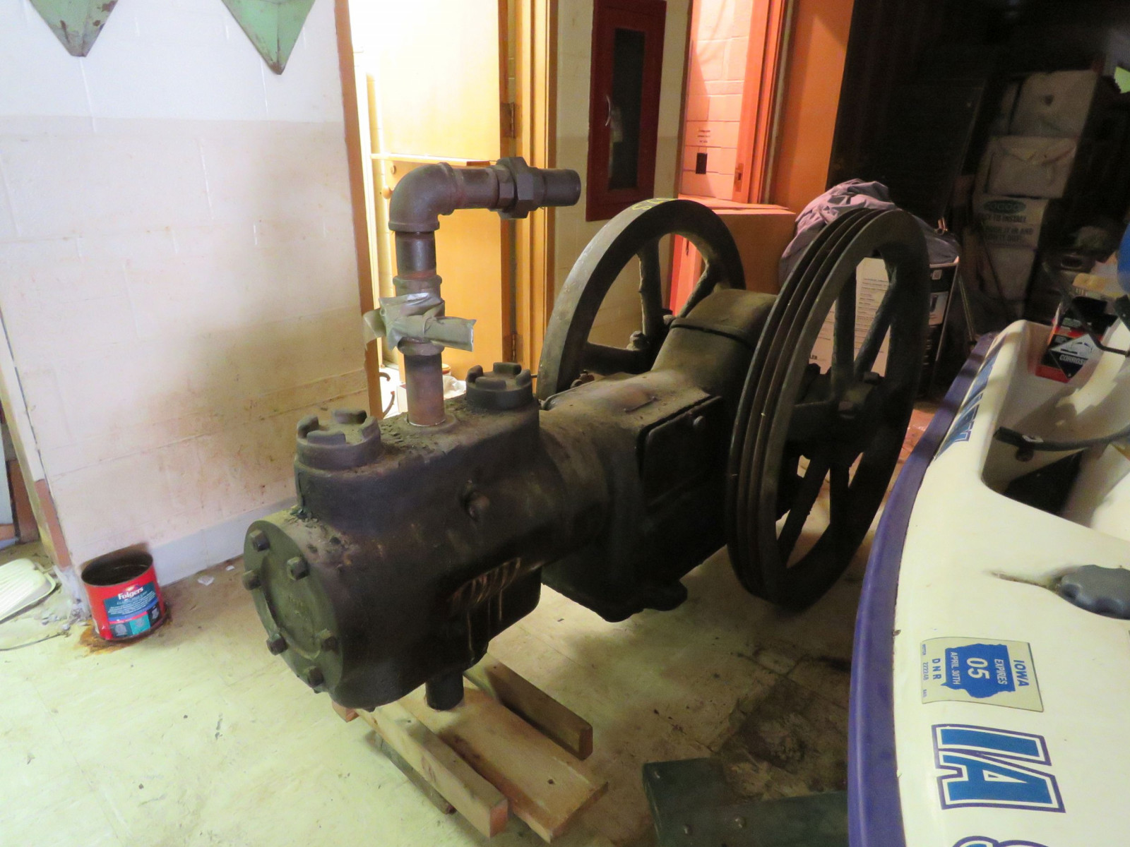 Sullivan Machinery Company Stationary Engine - Image 6