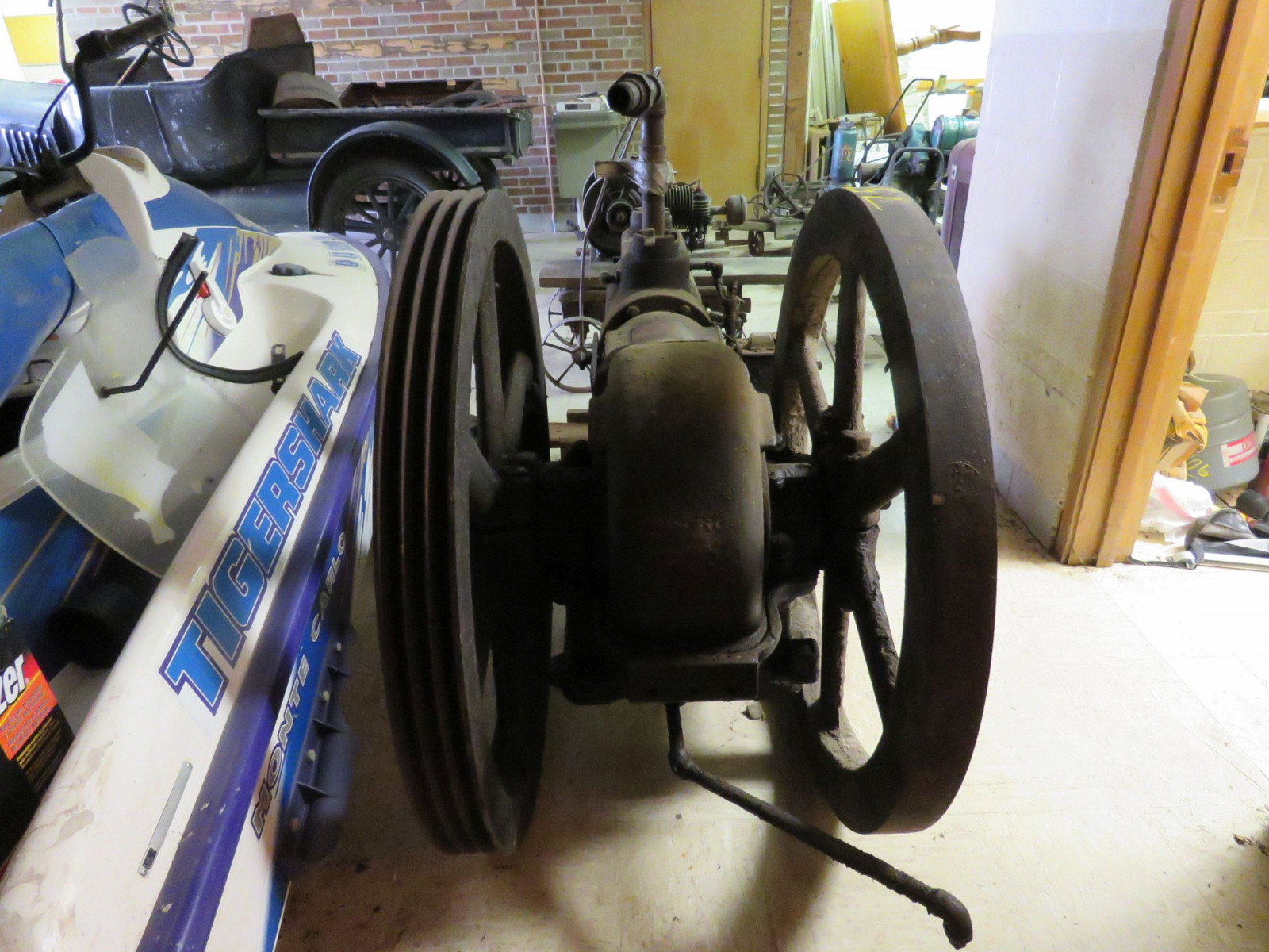 Sullivan Machinery Company Stationary Engine - Image 7