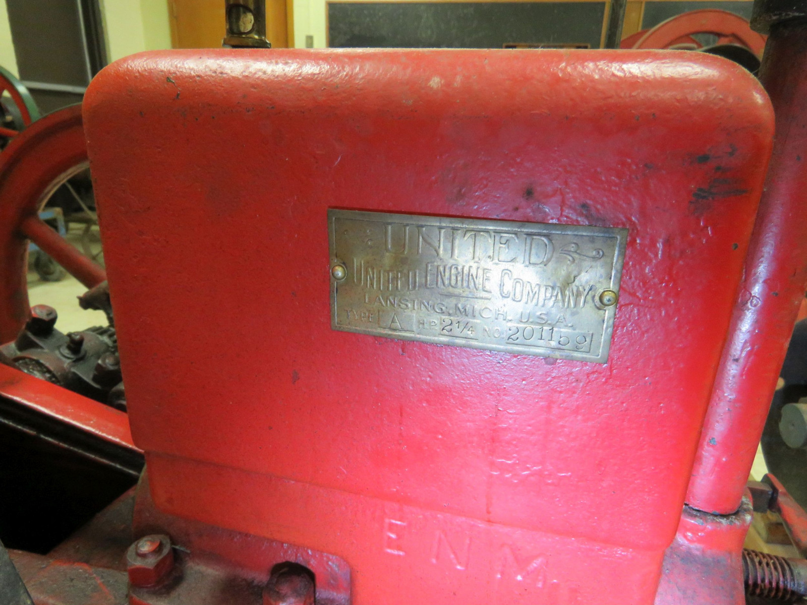 United Type A 2 1/4hp Stationary Engine 201159 - Image 5