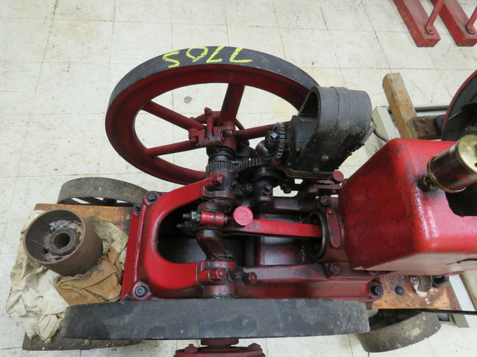 United Type A 2 1/4hp Stationary Engine 201159 - Image 6